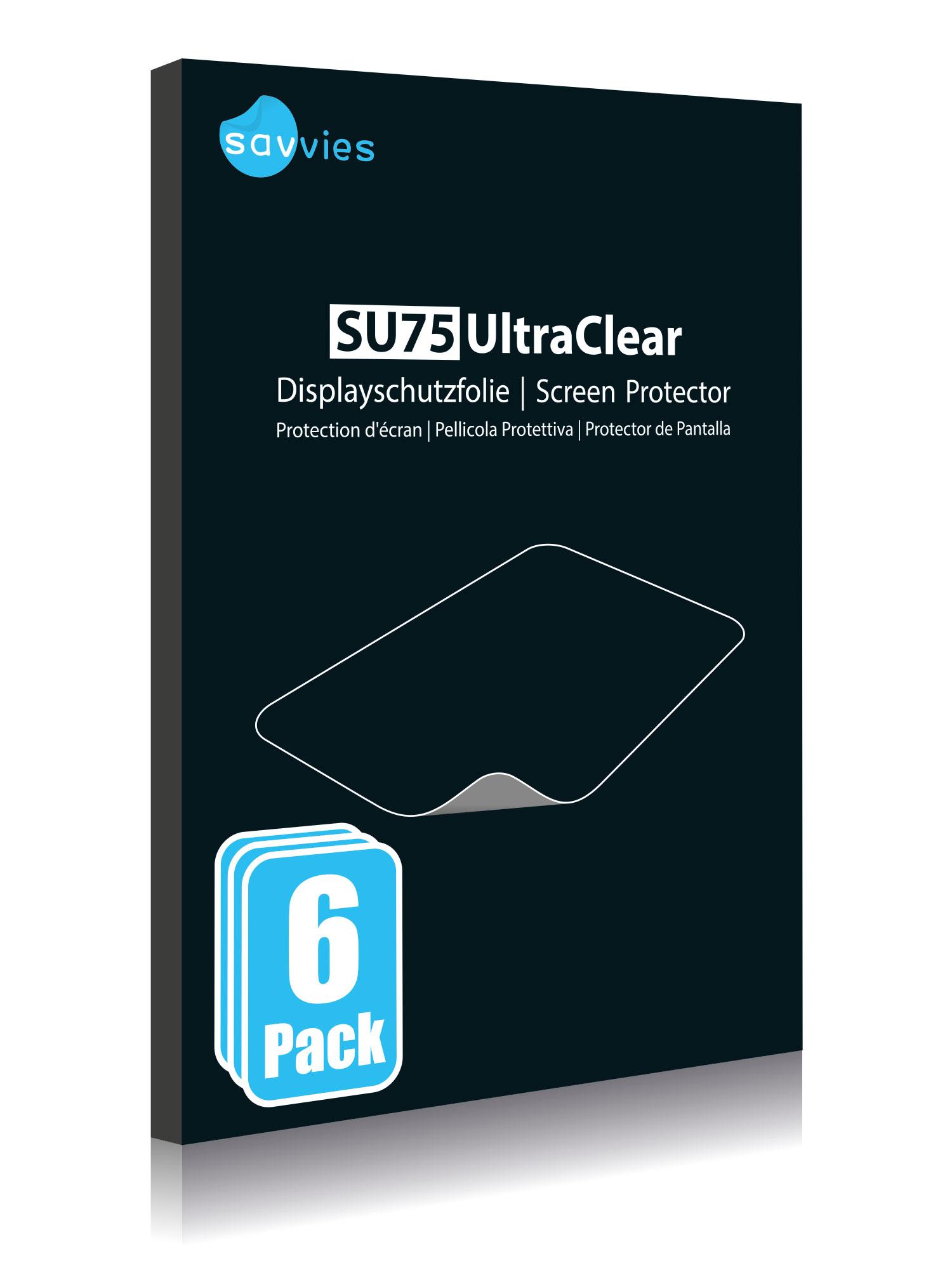 Protector de pantalla 6x para Nikon 1 v2 claro transparente protectora protector de pantalla