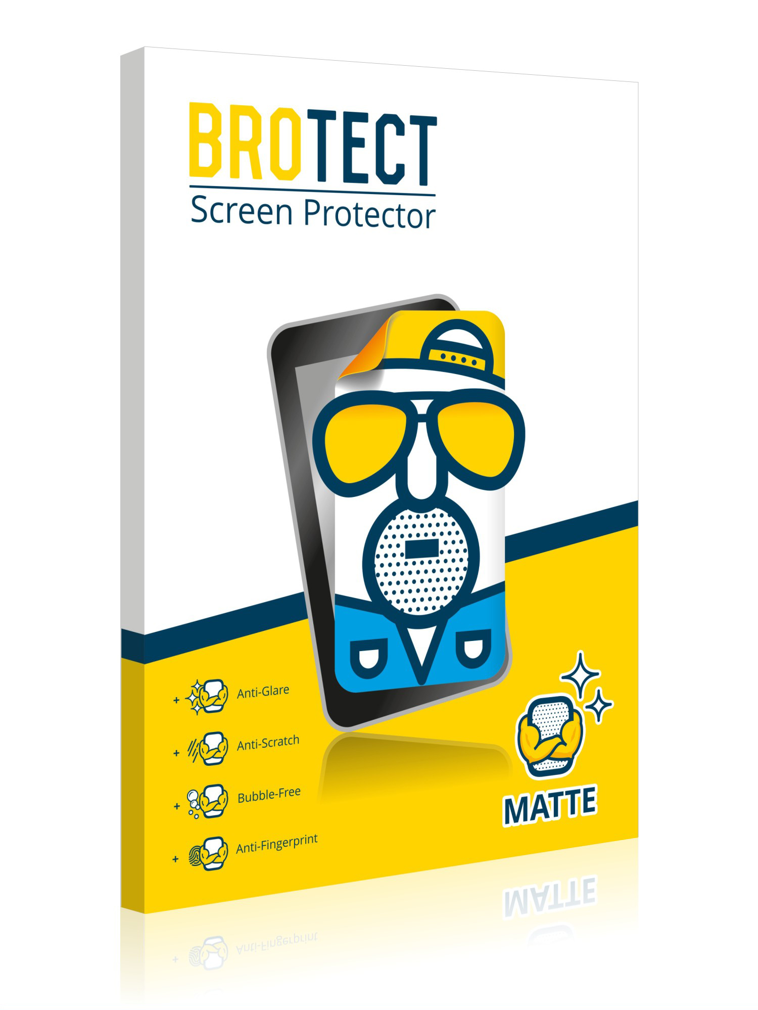 2x Brotect Mat Film Protection pour TomTom Start 42 ...