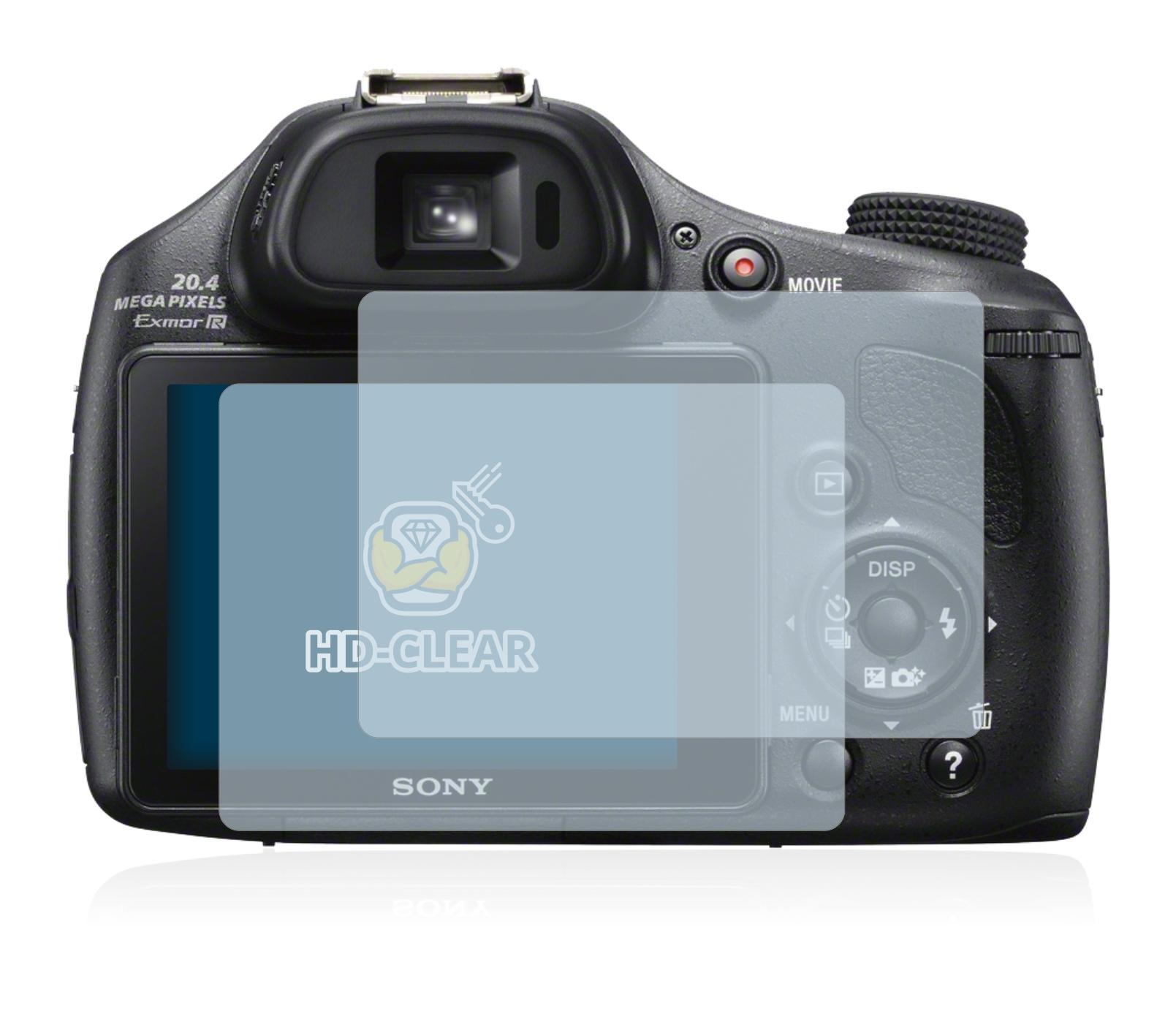 Lámina para Sony Cyber-shot dsc-hx60 entspiegelungs láminas protectoras de pantalla mate