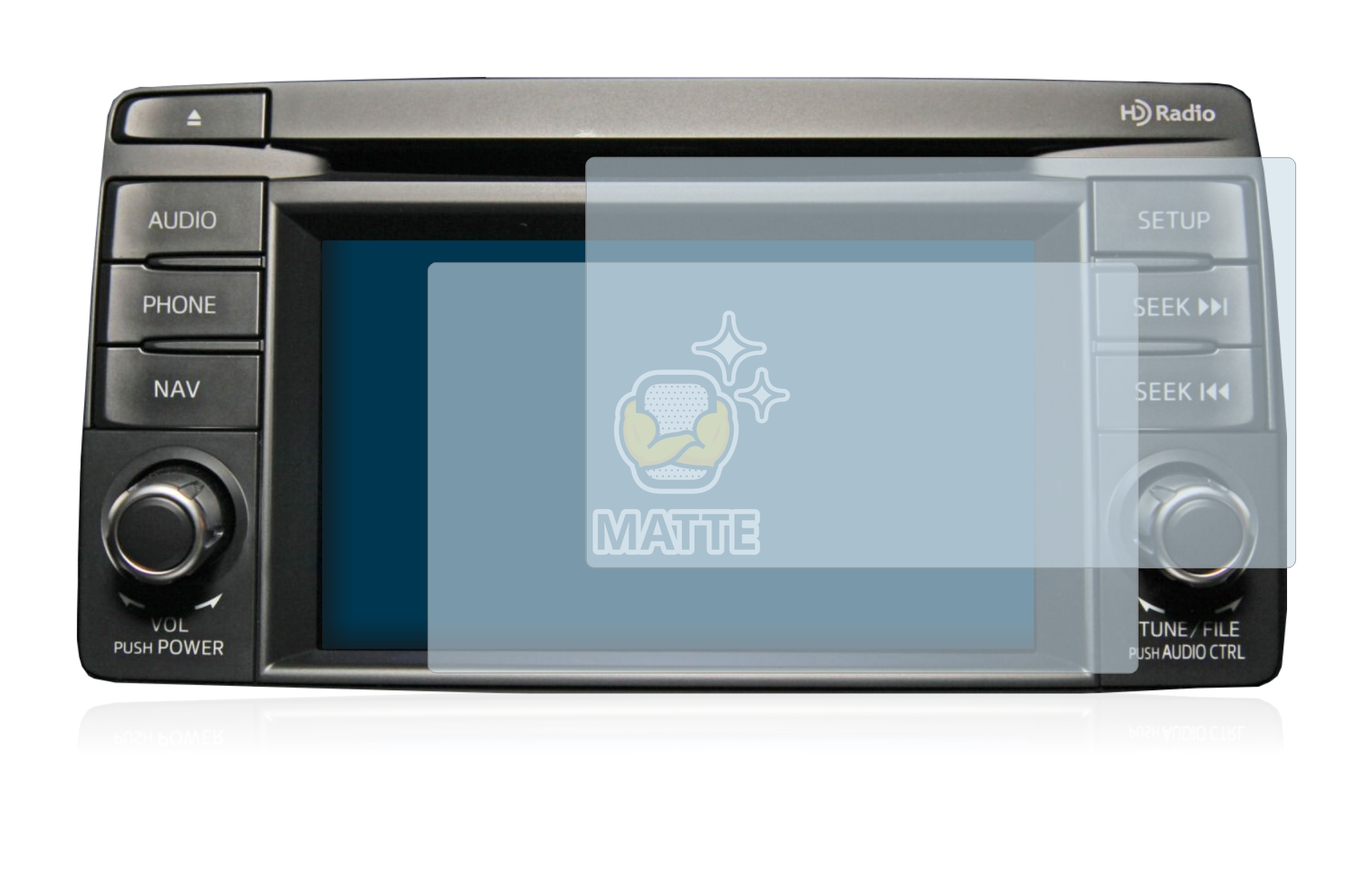 2x-BROTECT-Mat-Film-Protection-pour-Mazda-Navigation-System-CX-5-2012-2014