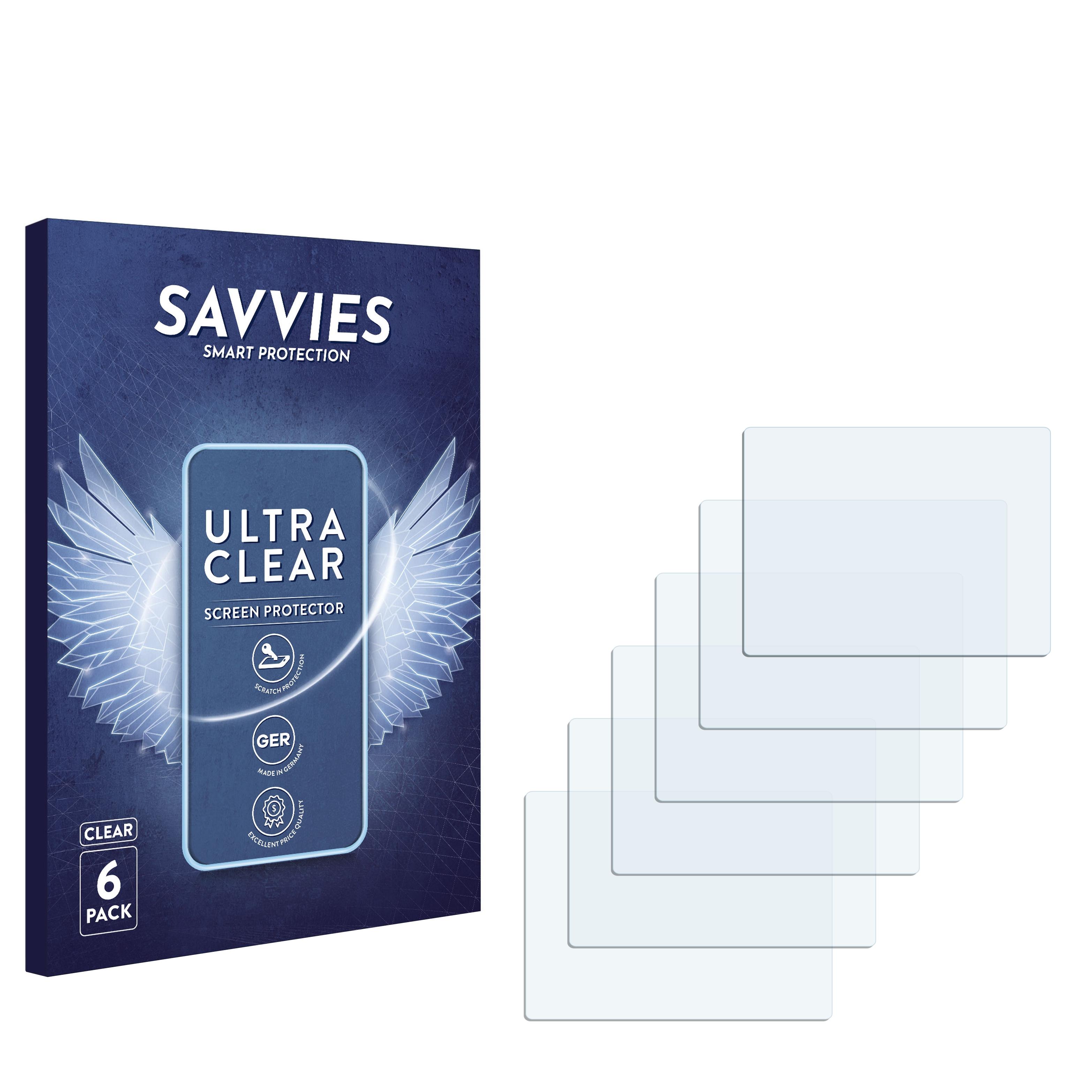 Ochranná fólie Savvies na Casio QV-R62, 6ks
