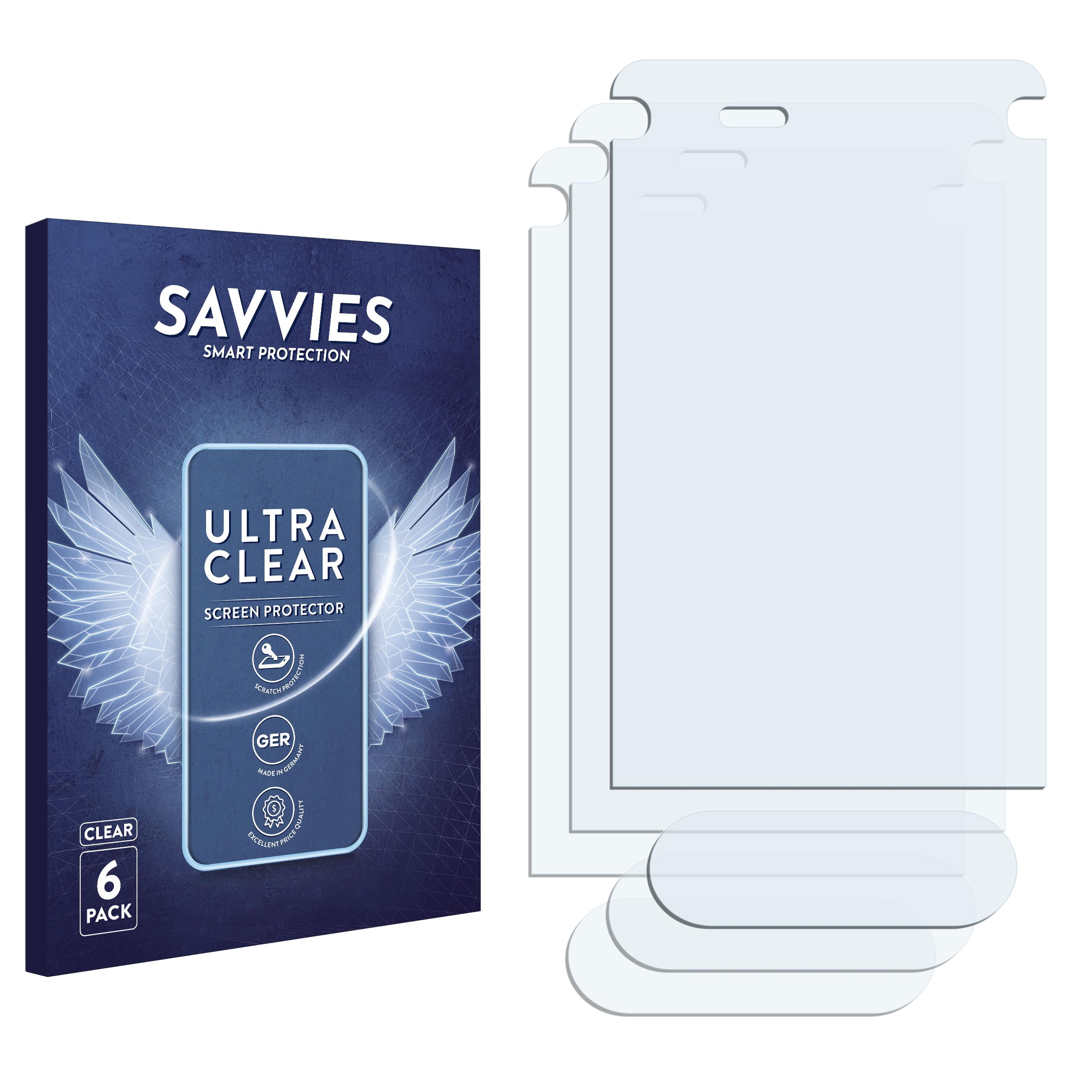 Ochranná fólie Savvies na Sony Ericsson Z770i, 6ks