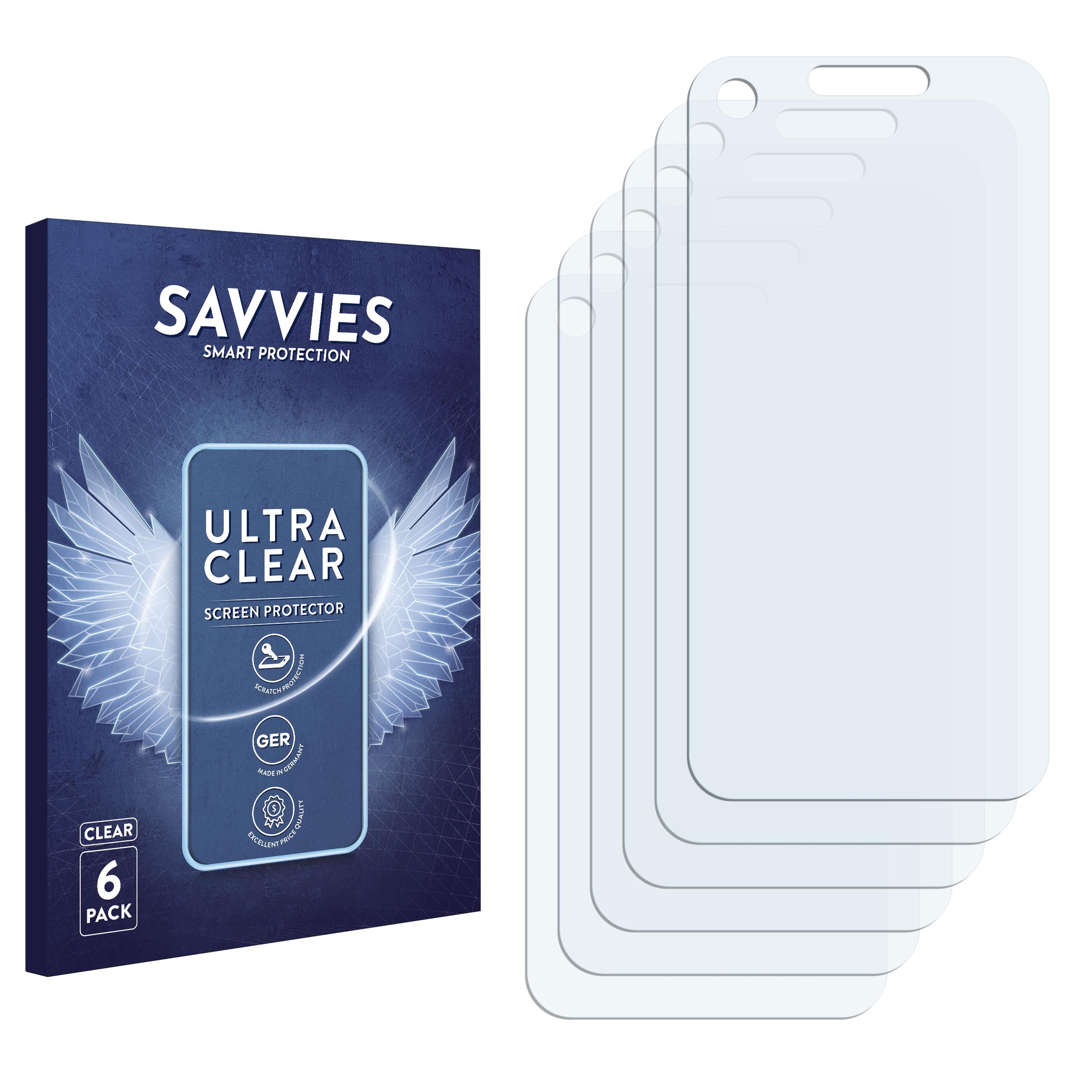 Ochranná fólie Savvies na LG Electronics GM730, 6ks
