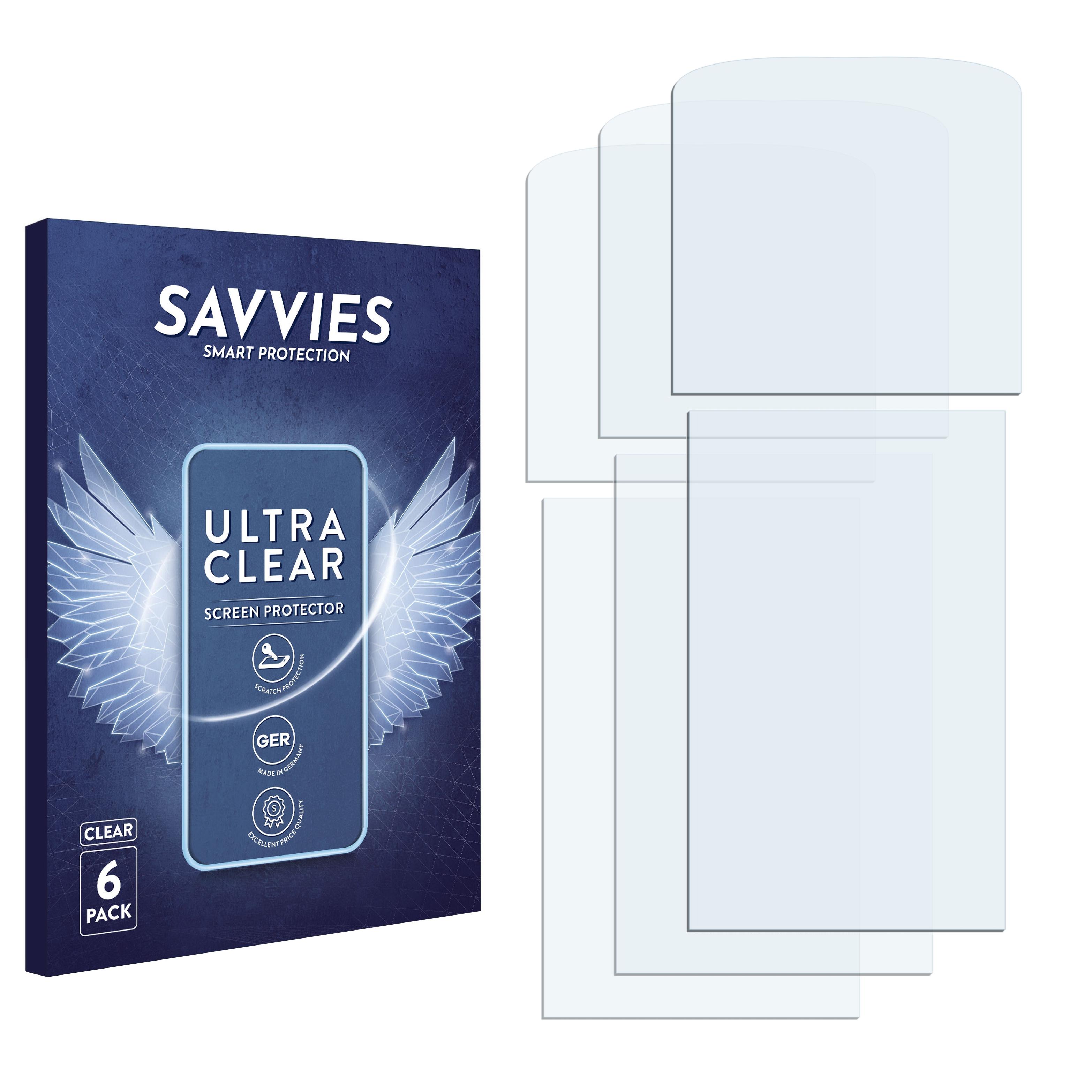 Ochranná fólie Savvies na LG Electronics KT610, 6ks