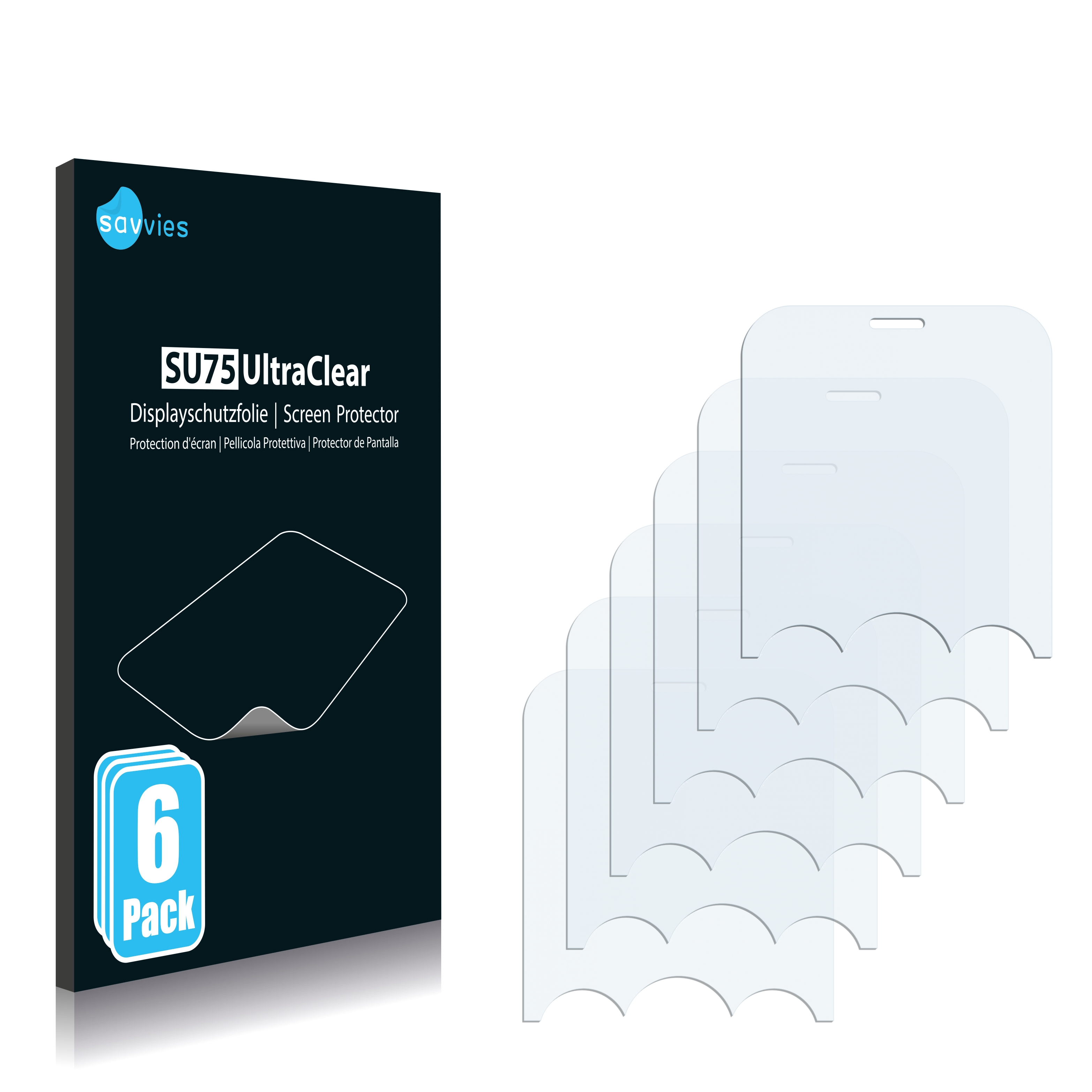 Ochranná fólie Savvies na LG Electronics GW300, 6ks