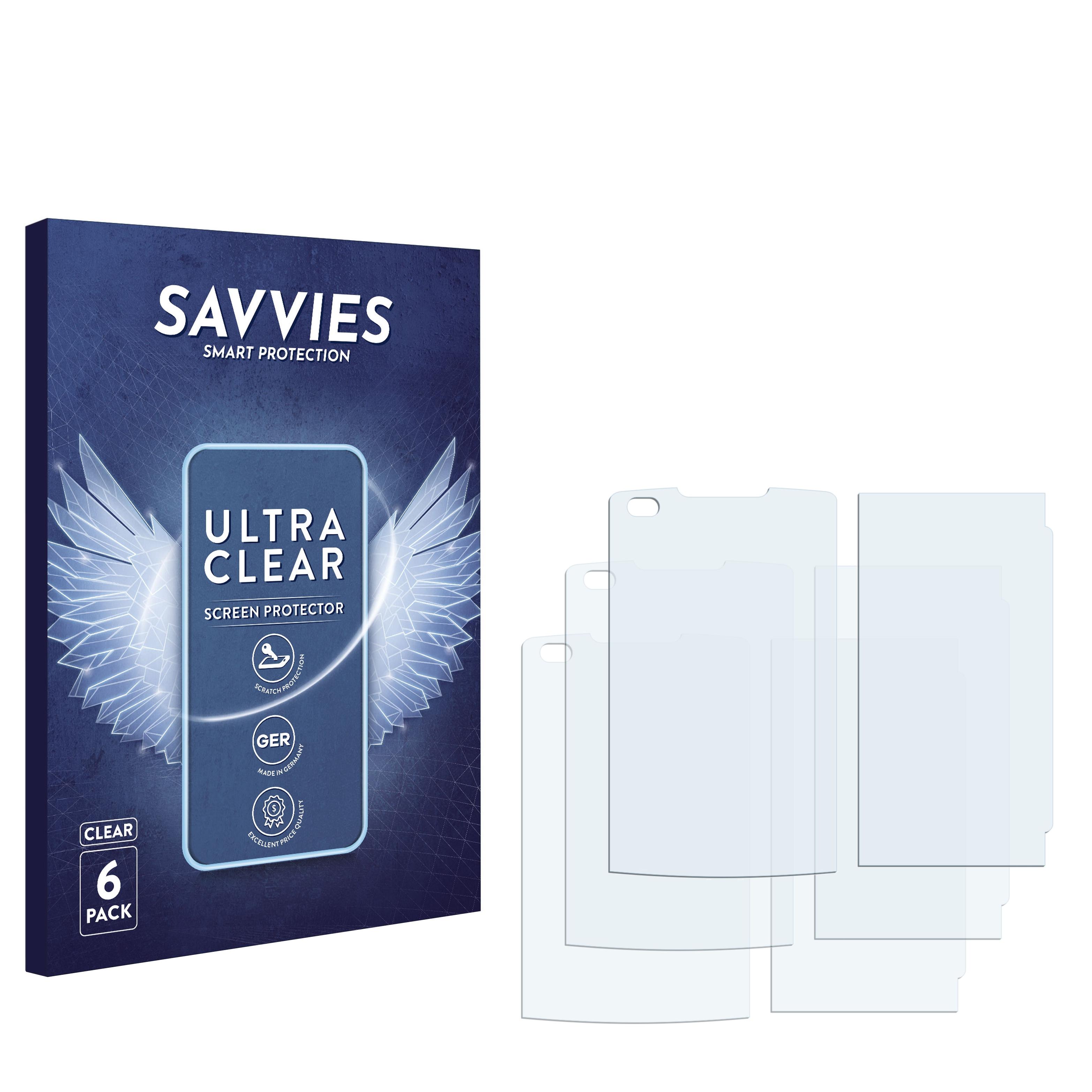 Ochranná fólie Savvies na LG Electronics VX-11000 enV Touch, 6ks