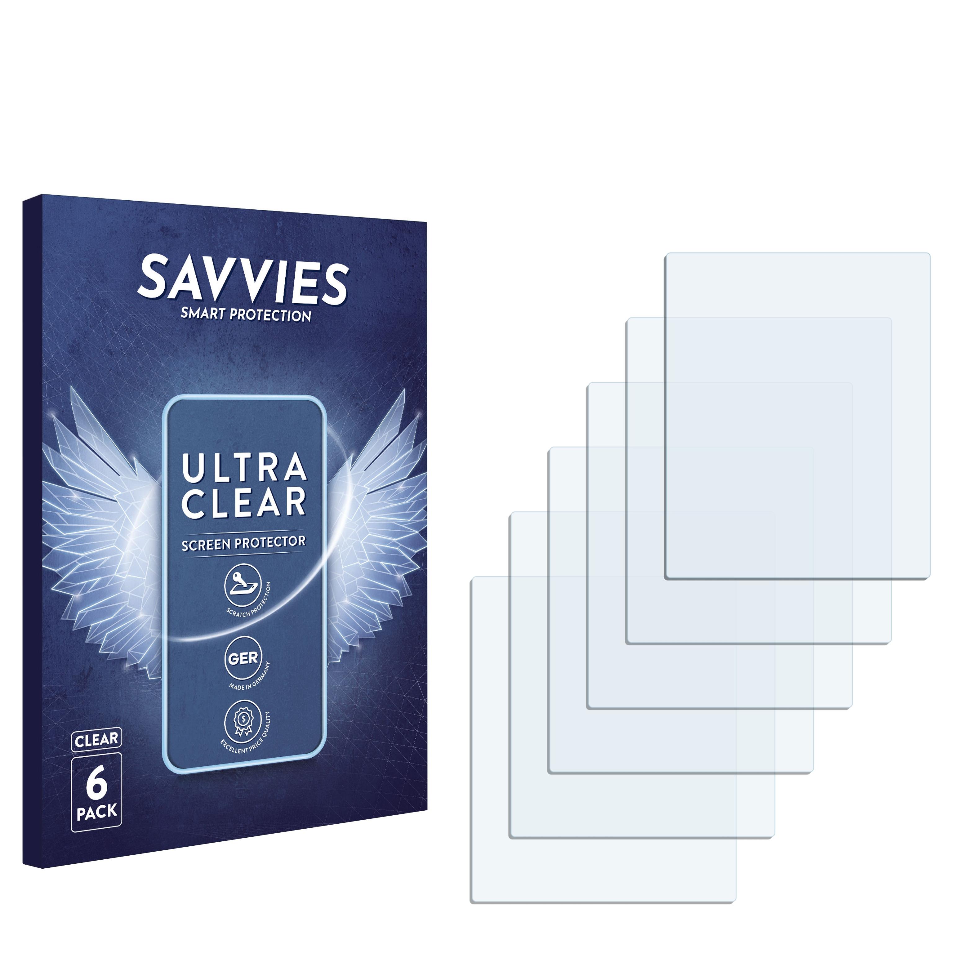 6x protector de pantalla garmin deZL 560 LT protectoras TRANSPARENTES para lámina protector de pantalla