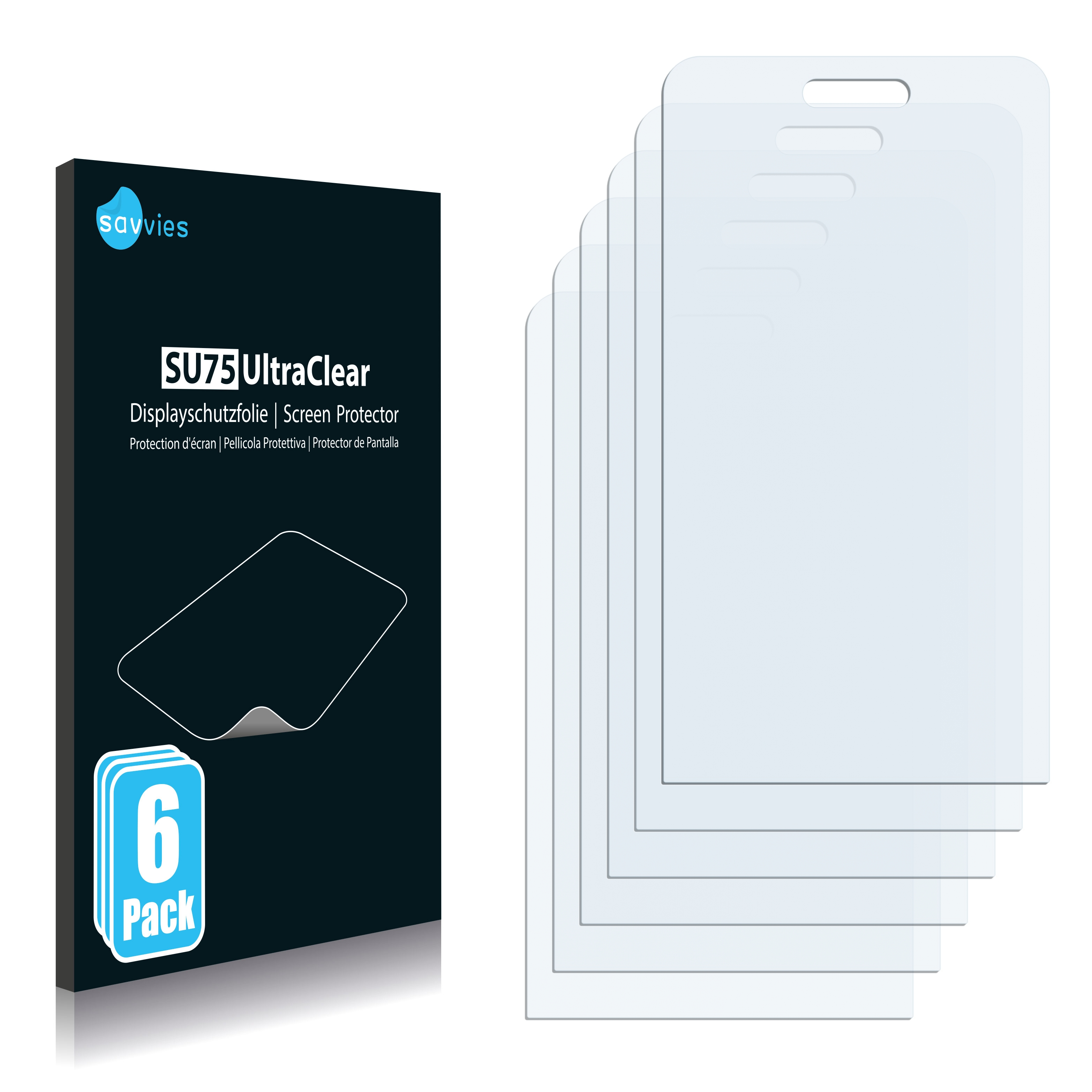 Ochranná fólie Savvies na Samsung Wave 723 S7230, 6ks