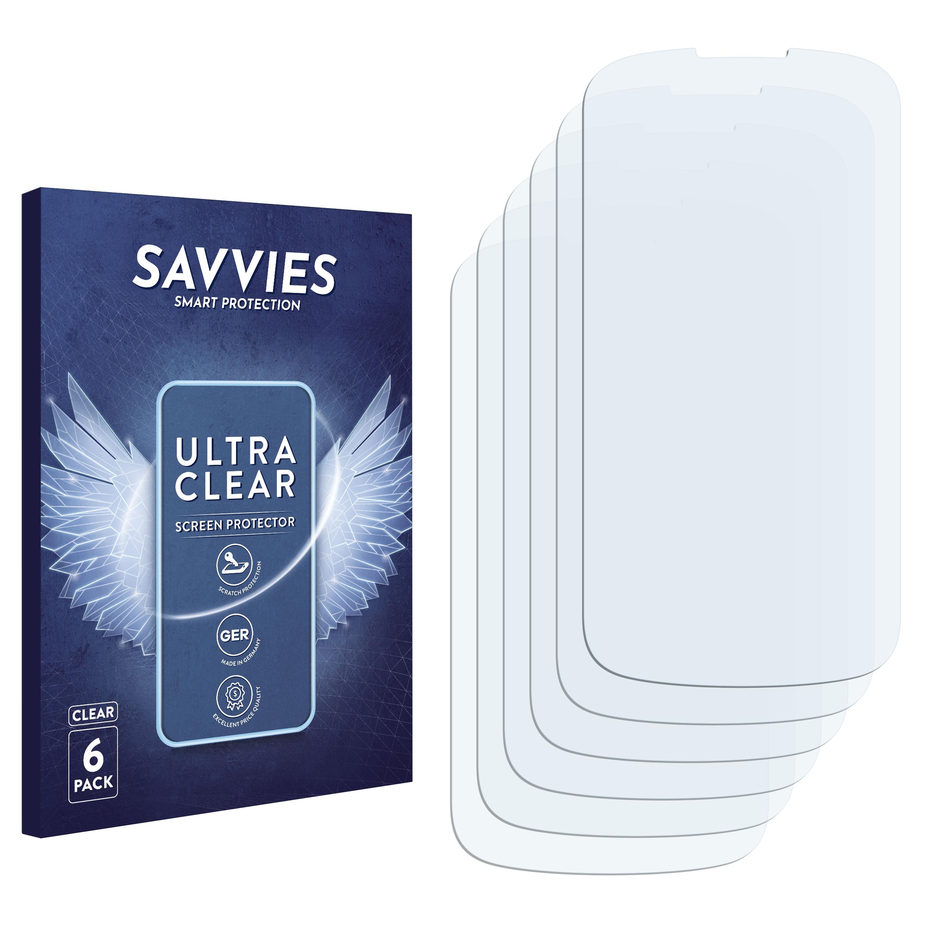 Ochranná fólie Savvies na Motorola Cliq 2, 6ks