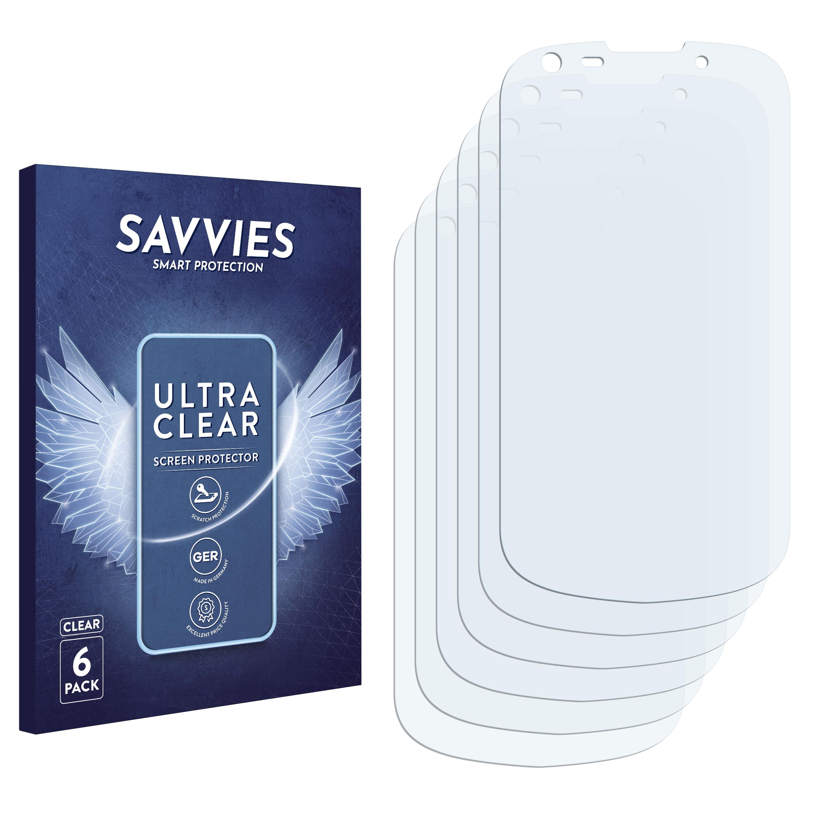Ochranná fólie Savvies na Samsung Galaxy Jasper, 6ks