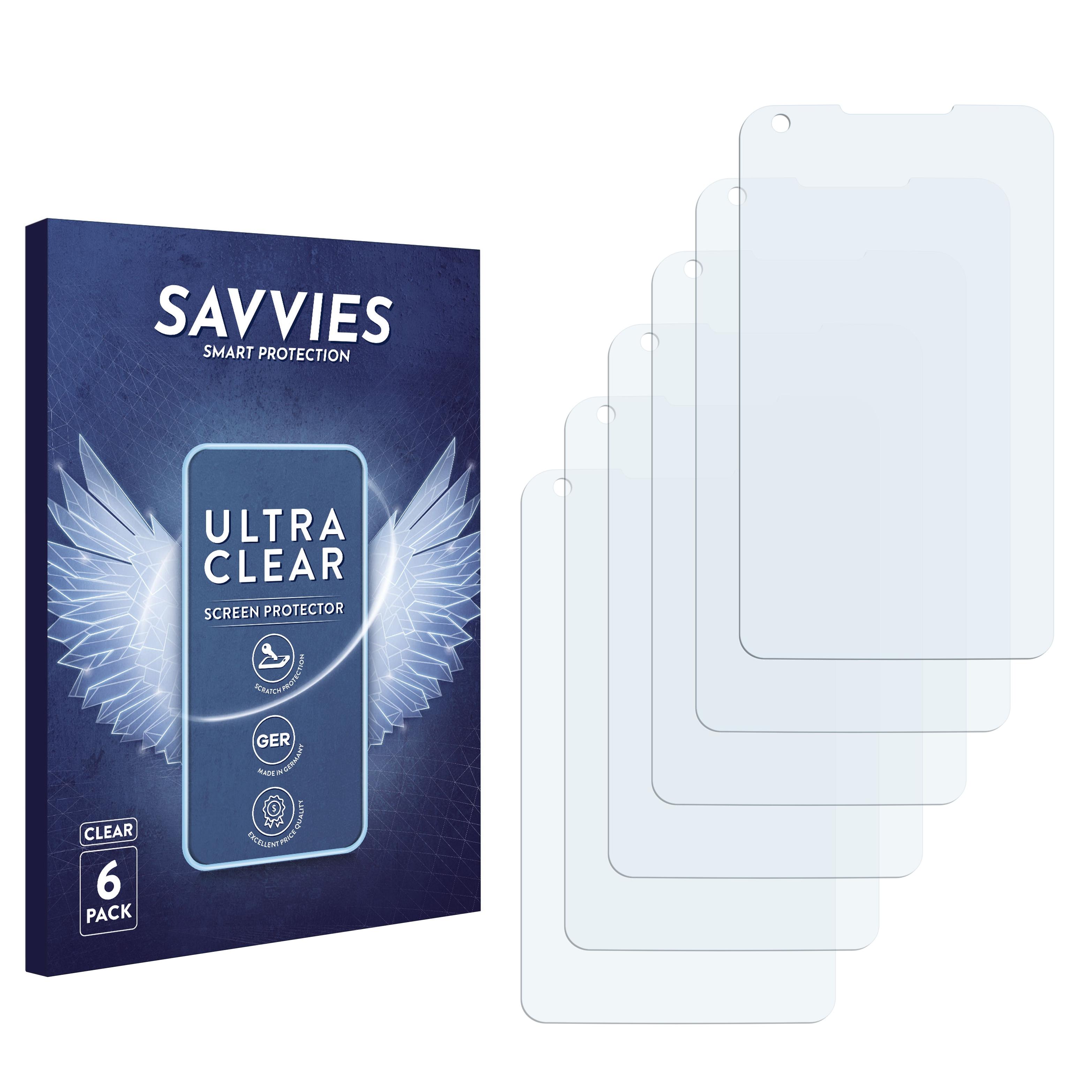 Ochranná fólie Savvies na Lenovo IdeaPhone S880, 6ks
