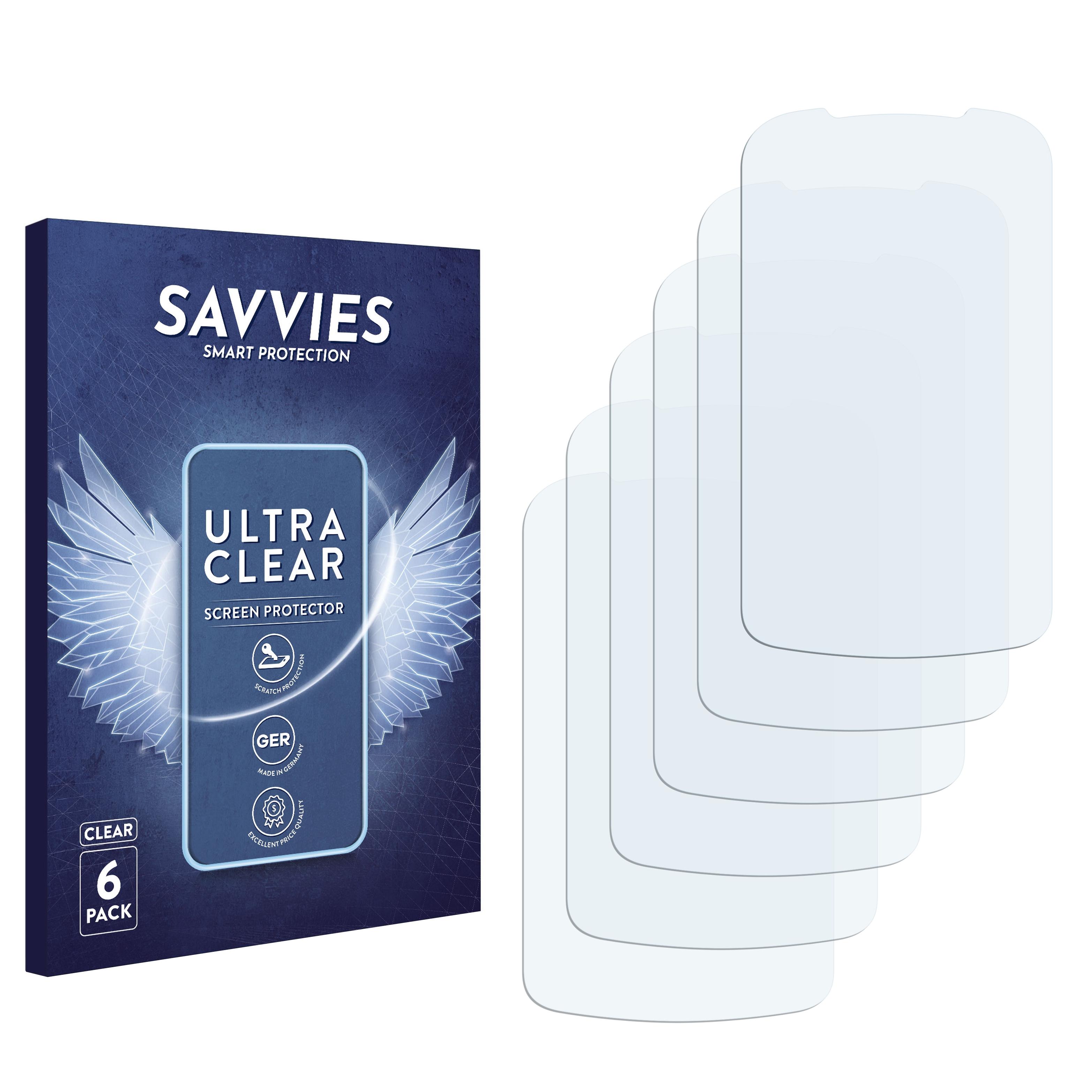 Ochranná fólie Savvies na LG Electronics Xpression 2 C410, 6ks