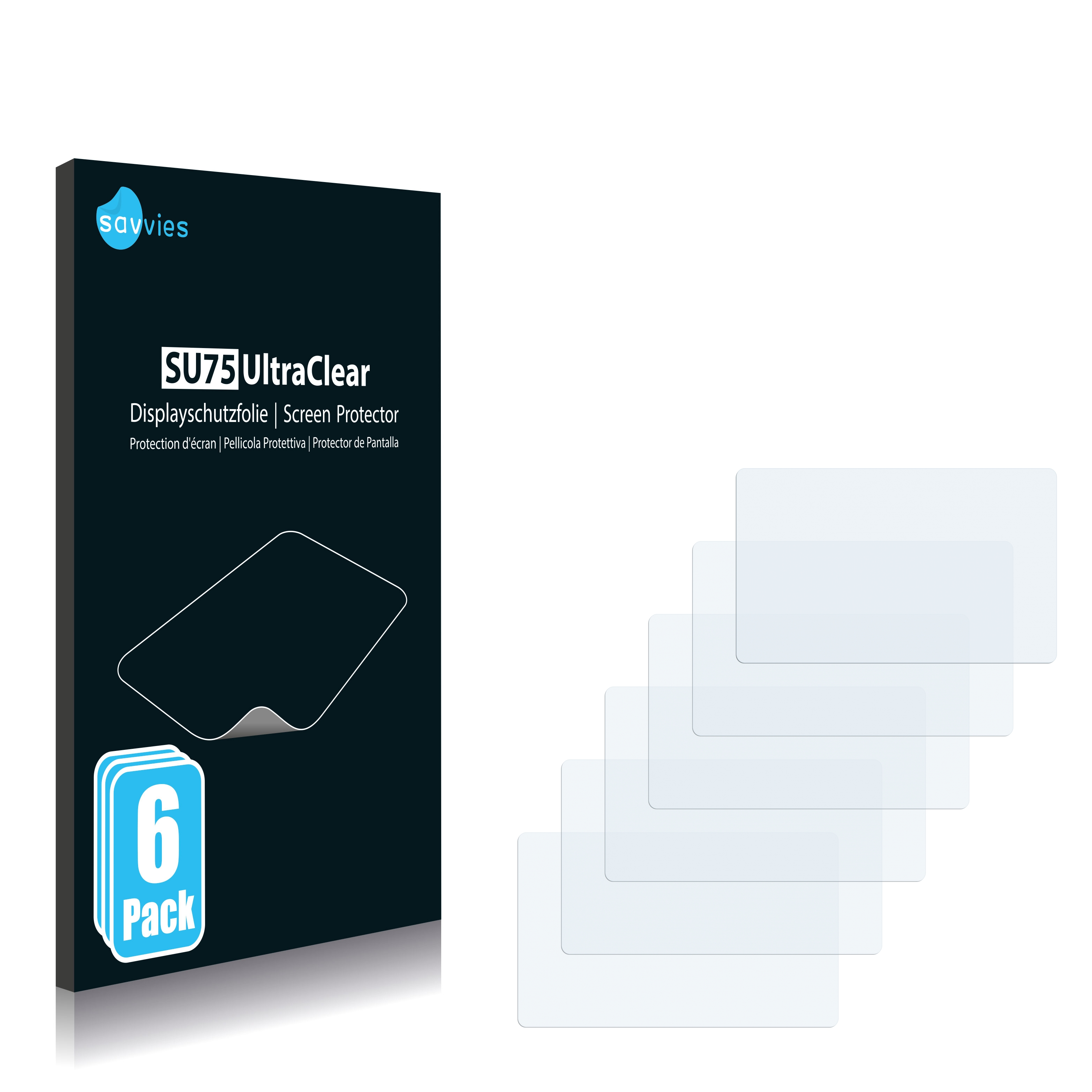 Ochranná fólie Savvies na 1&1 (1und1) Smartpad, 6ks