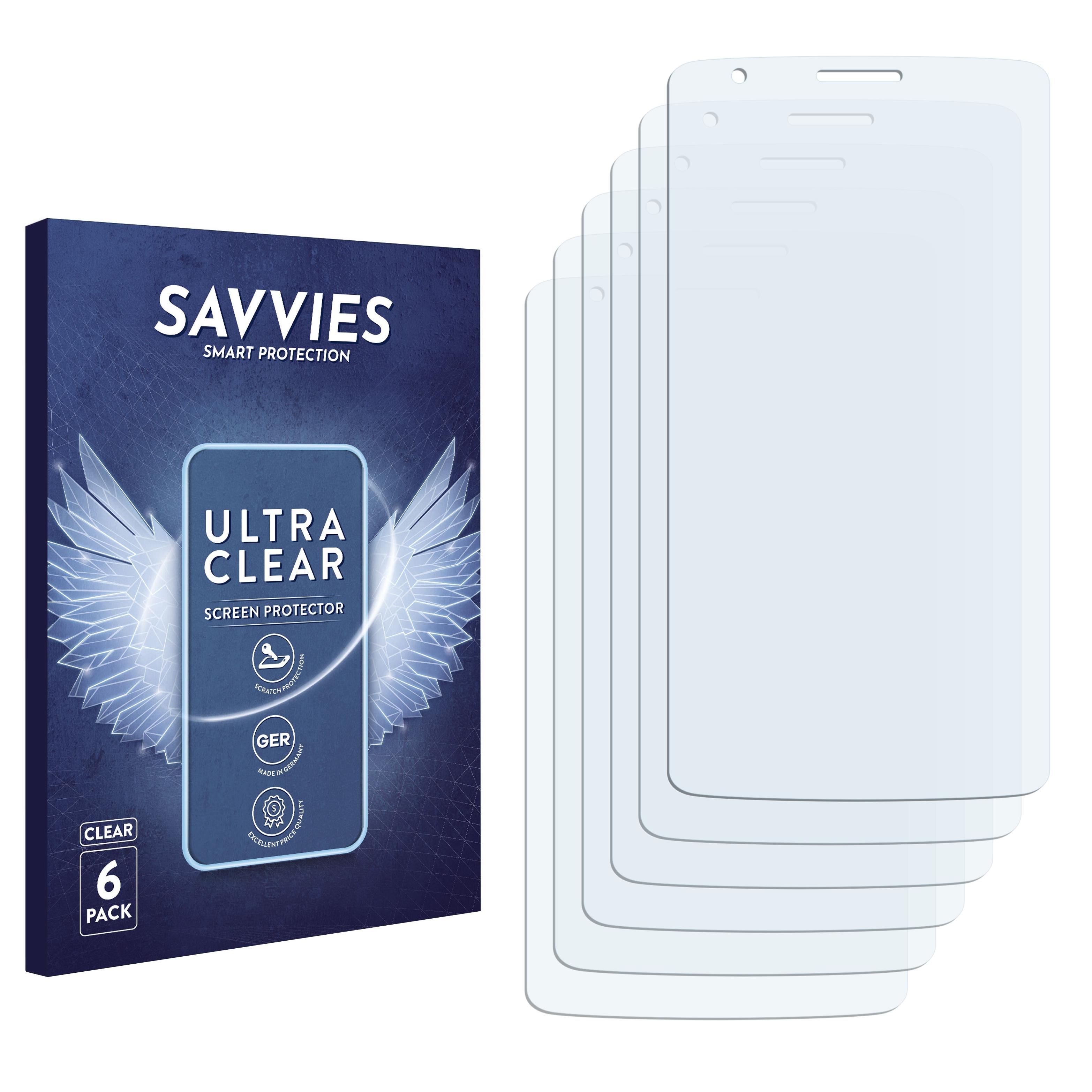 Ochranná fólie Savvies na LG G3 Stylus, 6ks