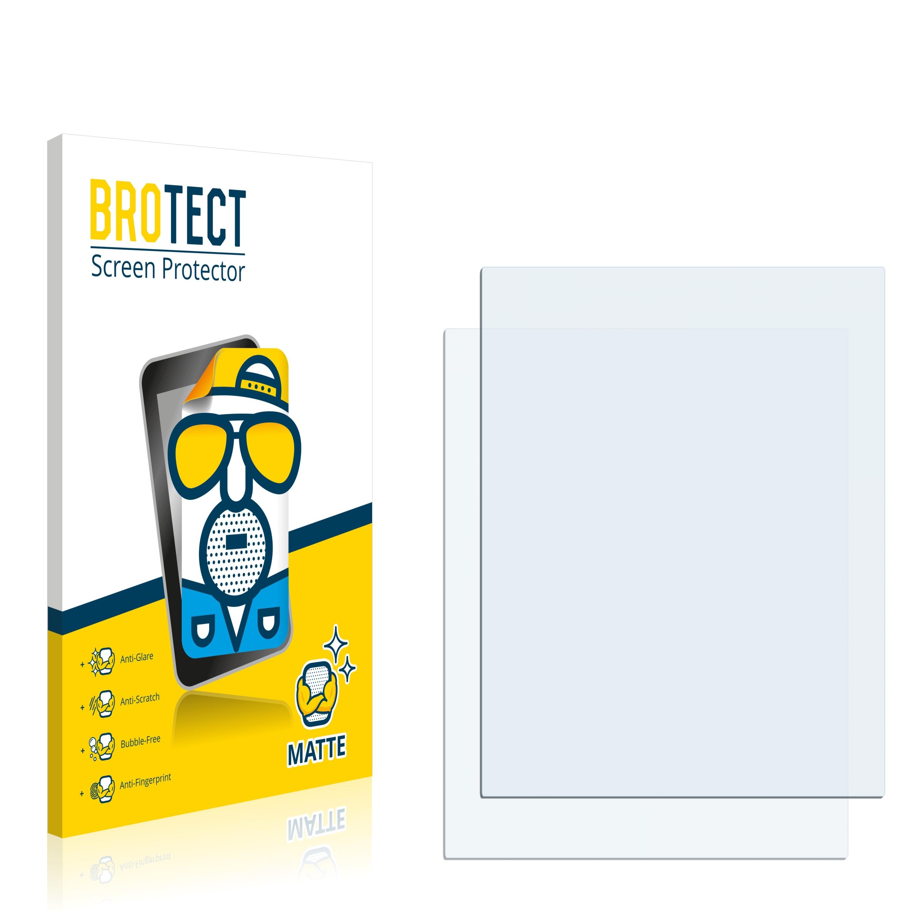 """Matná ochranná fólie BROTECT pro Dotykový panel s displejem 3.9"""" palce [60.2 mm x 79.5 mm, 4:3], 2 ks"""
