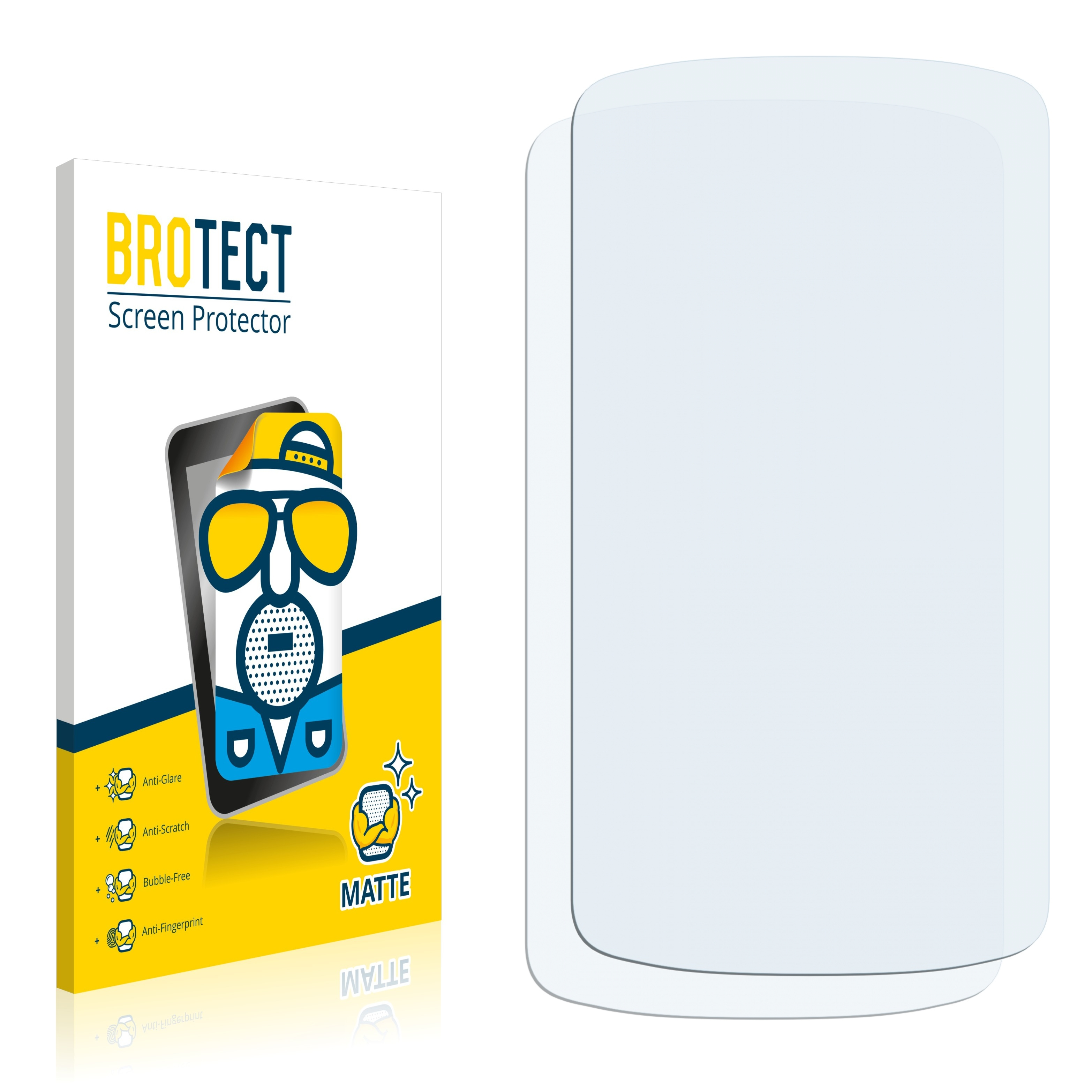 Matná ochranná fólie BROTECT pro Acer Liquid E1 Duo, 2 ks