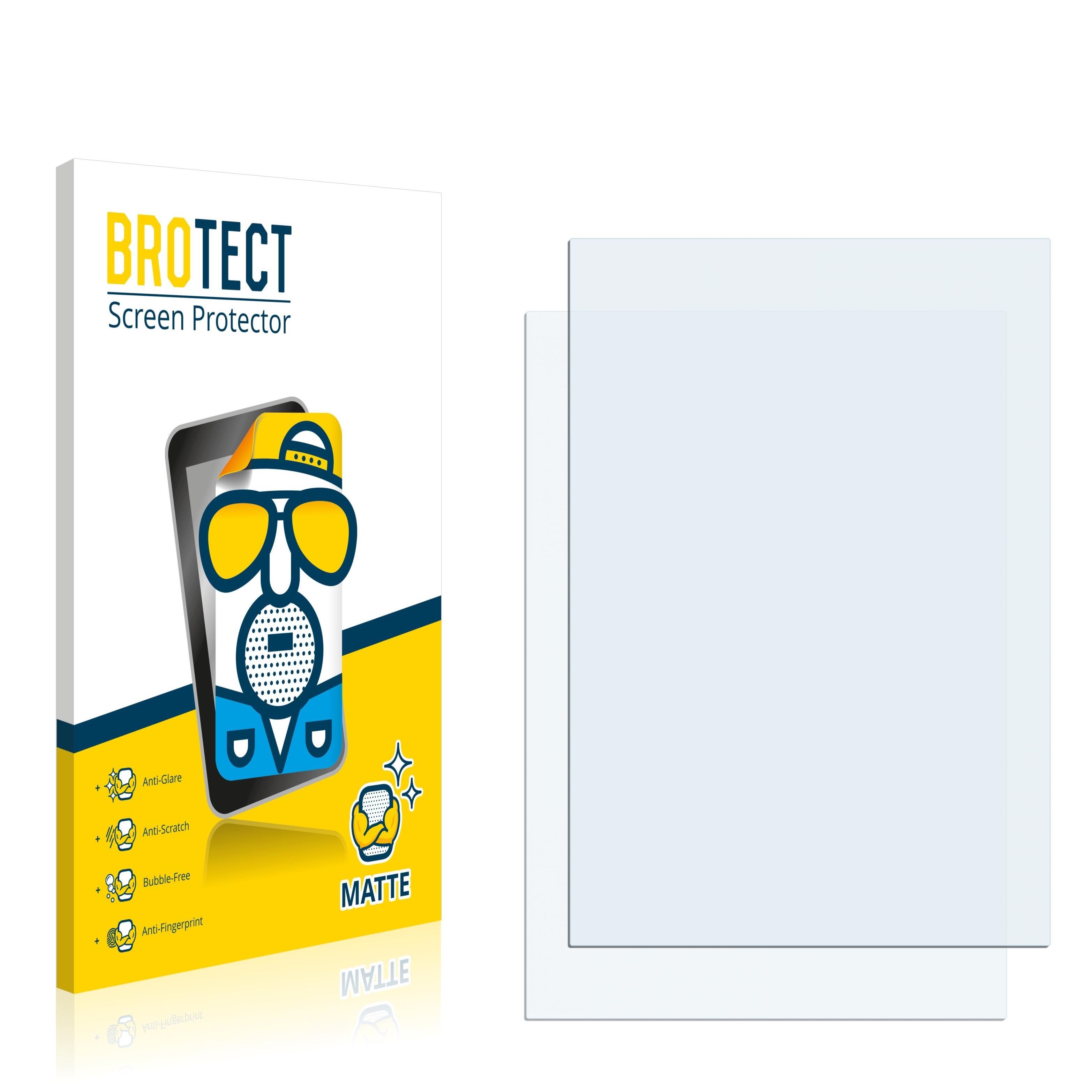 2X BROTECT Matte Screen Protector for Denso BHT-1200 Matte Anti-Glare Anti-Scratch