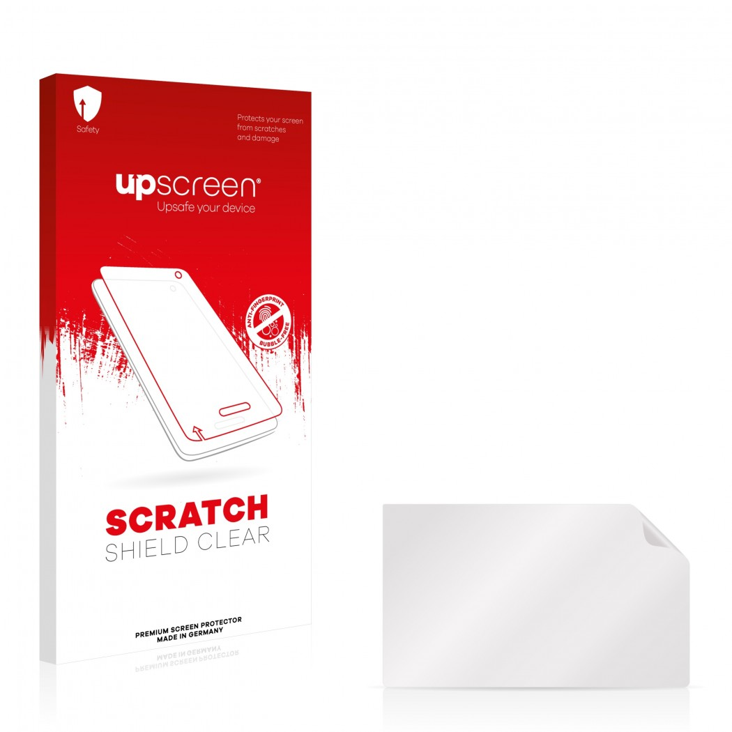 upscreen® Scratch Shield Screen Protector for Opel Navi 900 IntelliLink 8 0  Insignia