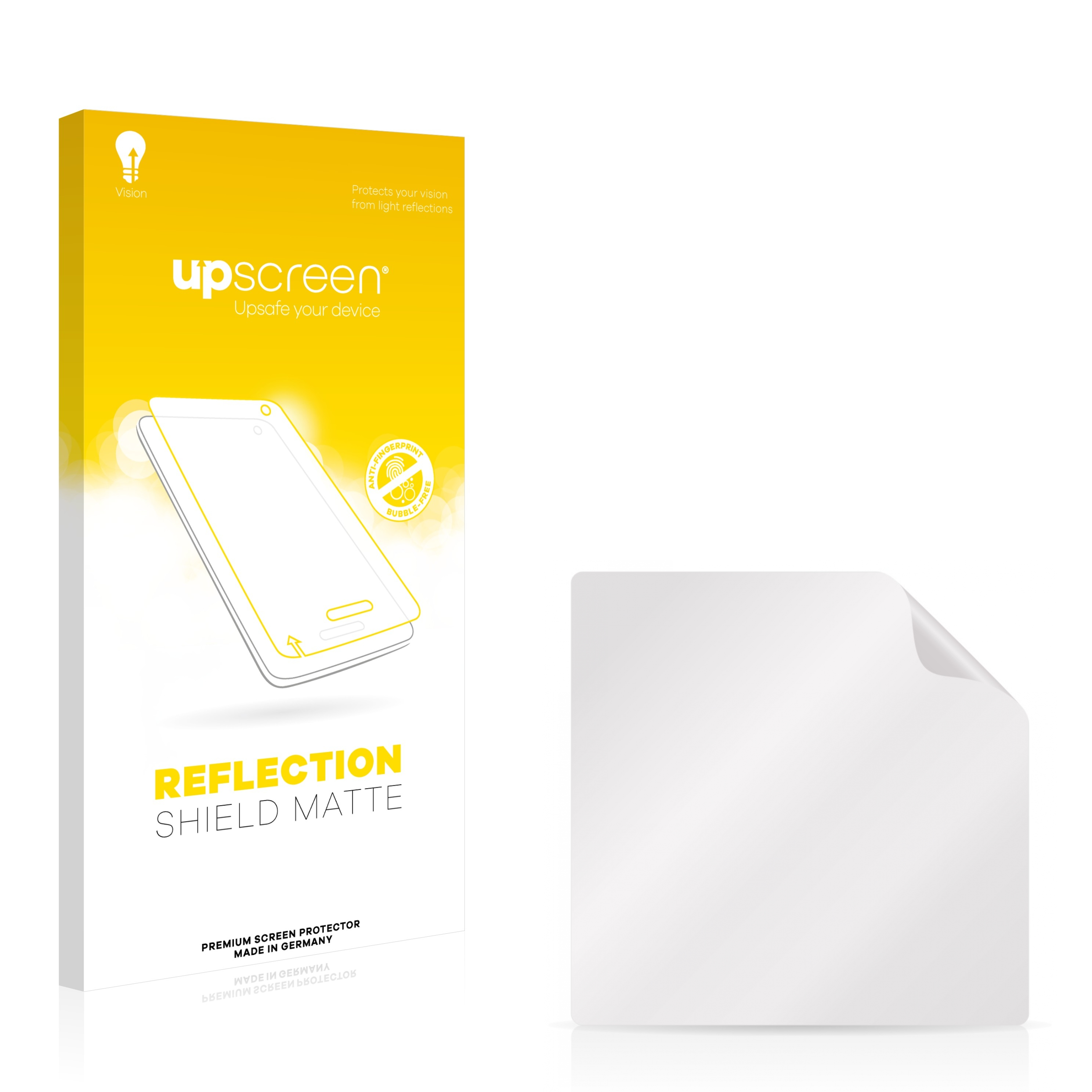 Matte and Anti-Glare upscreen Reflection Shield Matte Screen Protector for Symbol MC3090-Z Multitouch Optimized Strong Scratch Protection