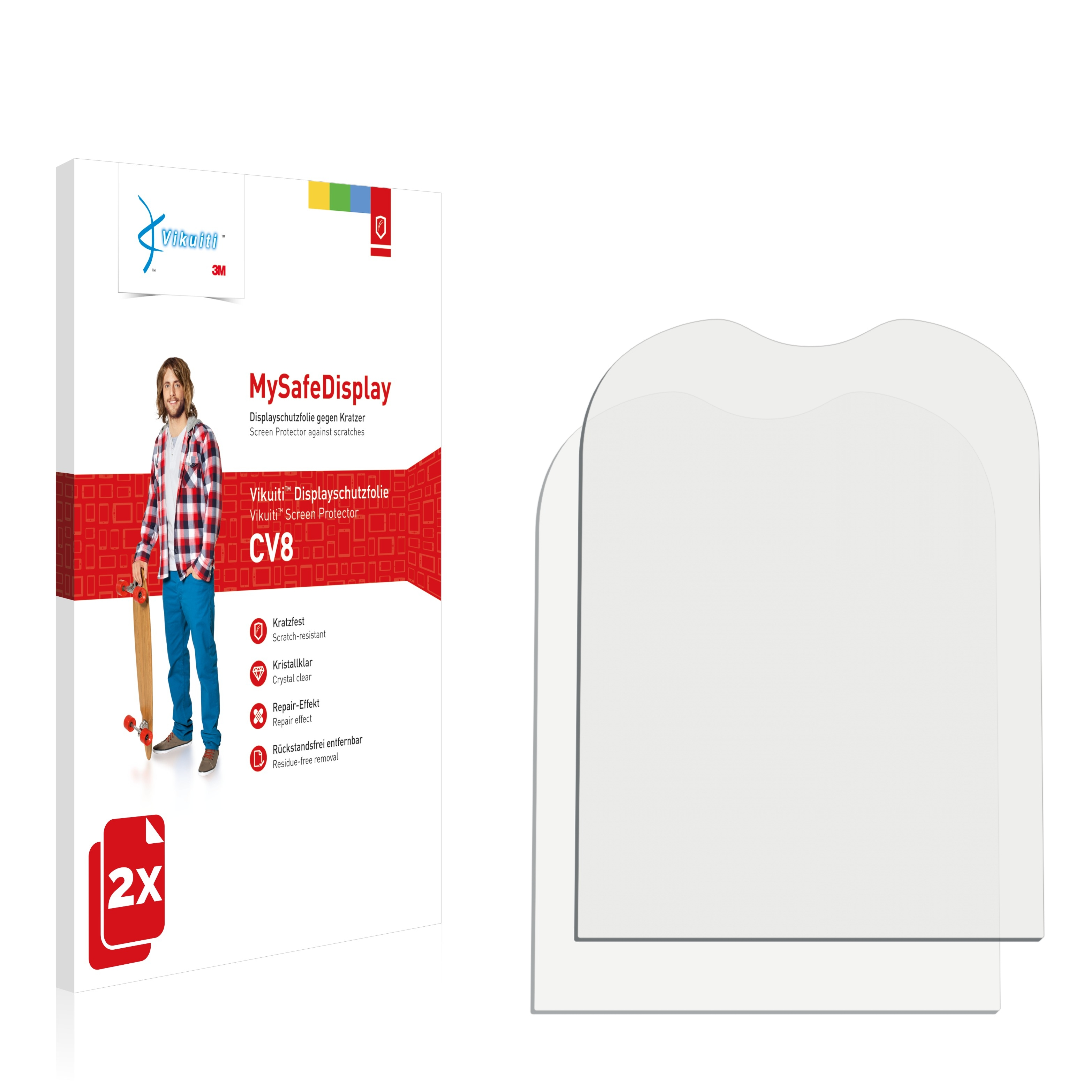 Ochranná fólie CV8 od 3M pro Alcatel One Touch OT-305, 2ks