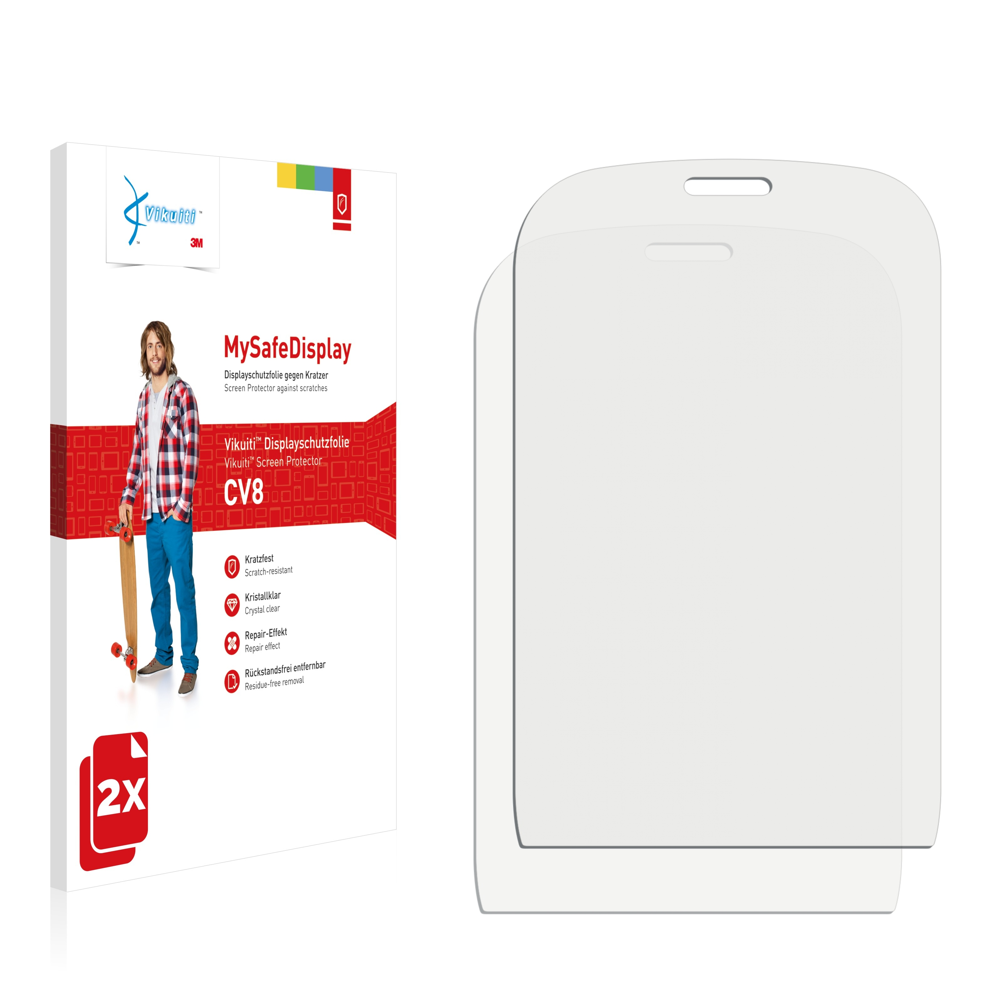 Ochranná fólie CV8 od 3M pro Alcatel One Touch OT-905, 2ks