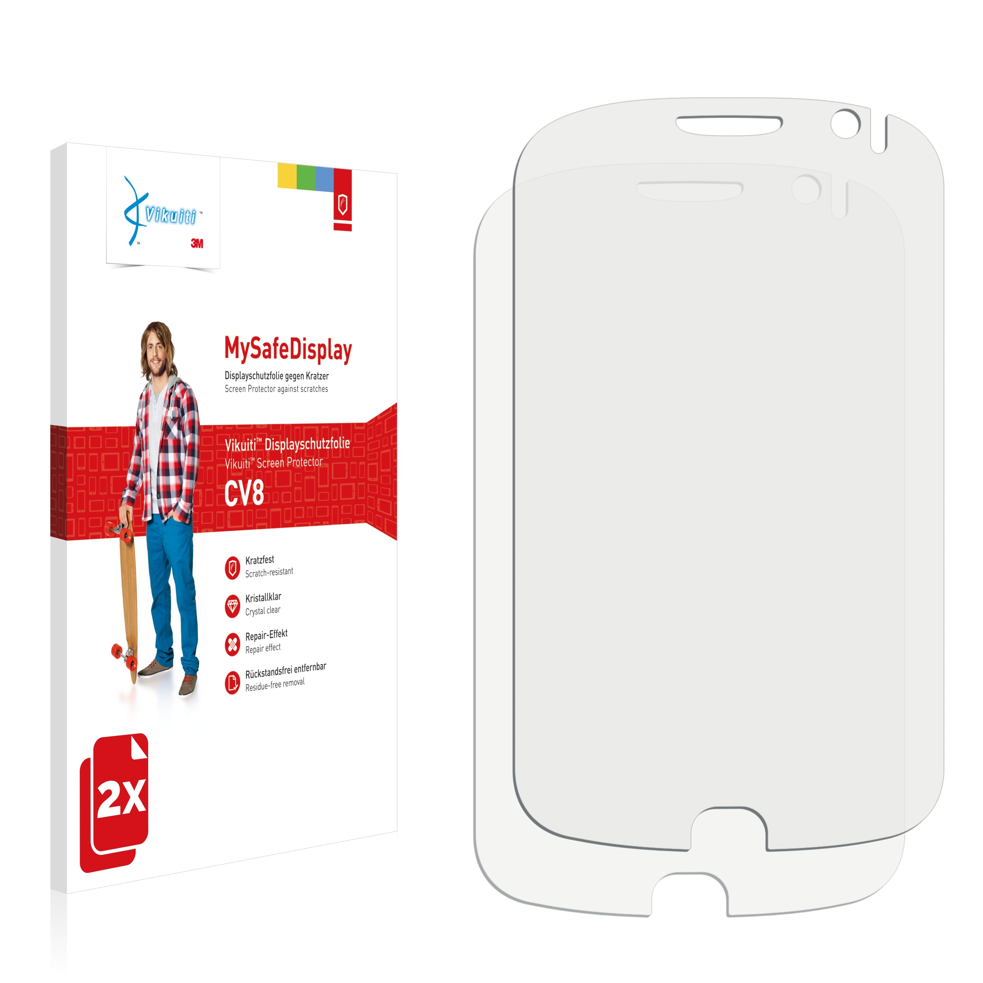 Ochranná fólie CV8 od 3M pro Alcatel One Touch OT-990, 2ks