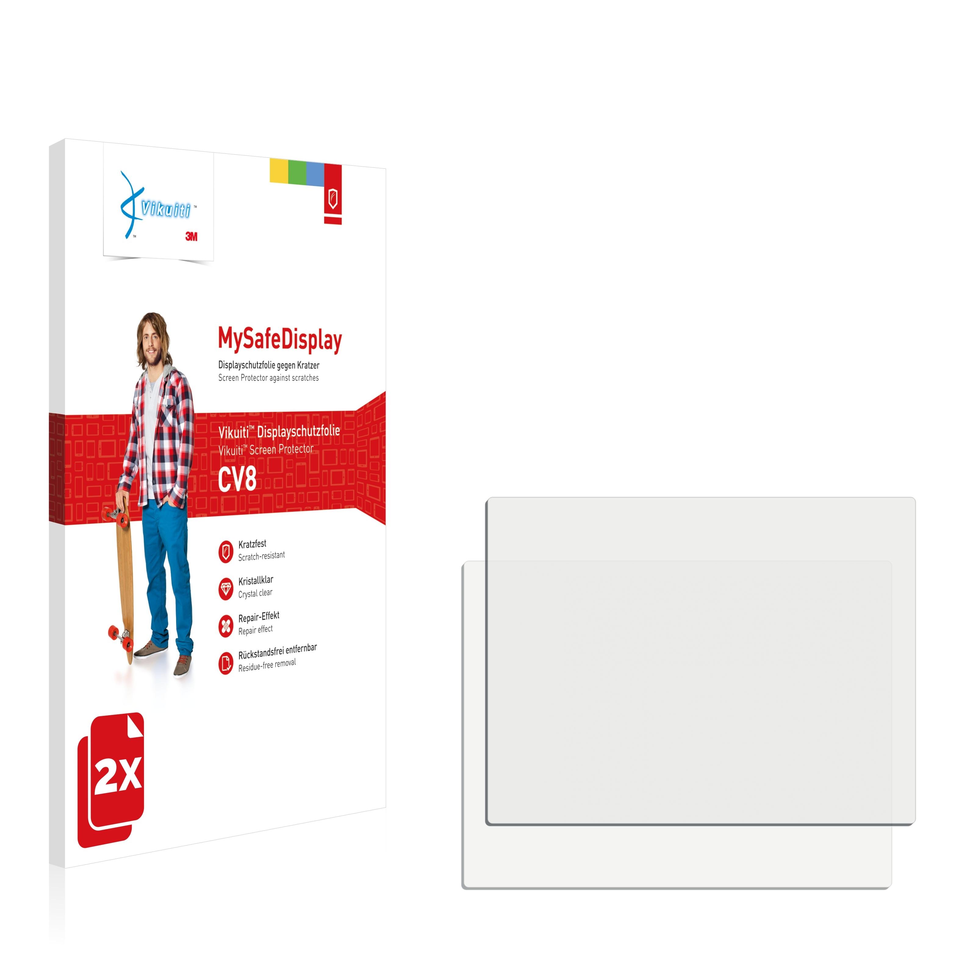 2x Displayschutz Folie Klar für Samsung NX500 Schutzfolie Displayfolie