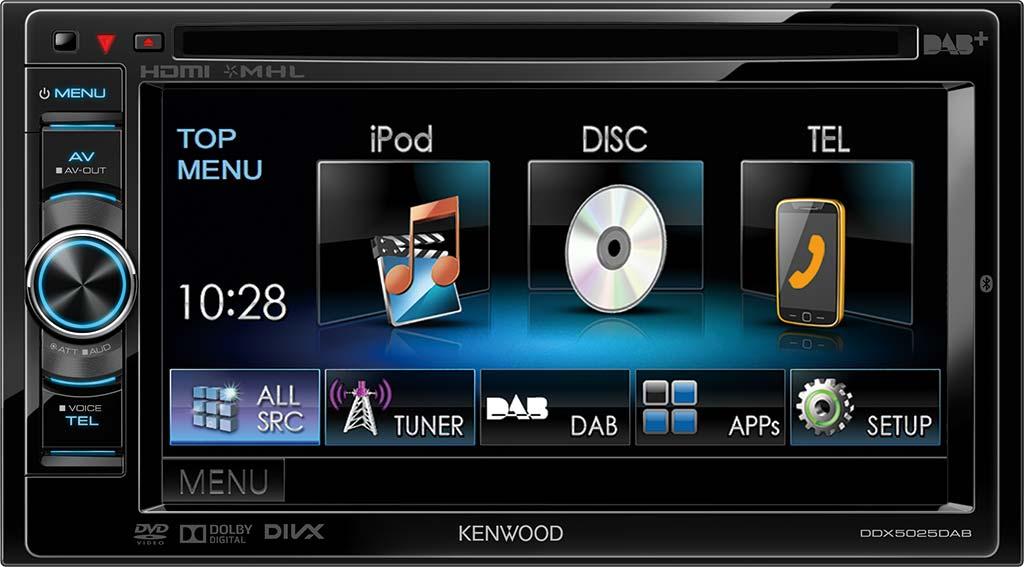 2x Displayschutzfolie Matt für Kenwood DNX5260BT Schutzfolie Displayfolie Folie