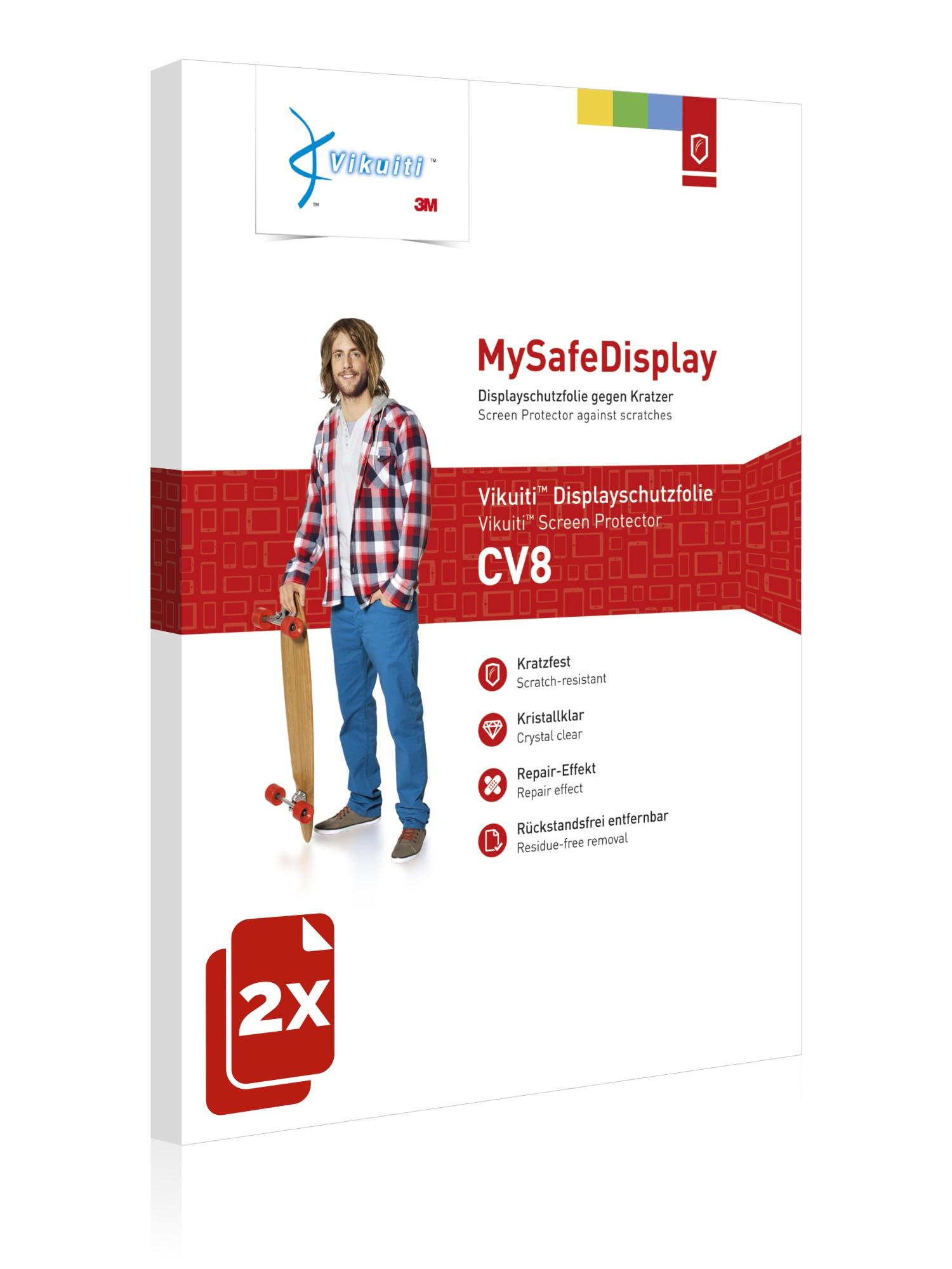 2x-Vikuiti-cv8-Film-de-protection-de-3-m-pour-Palm-Pixi-Plus-de-protection-d-039-ecran