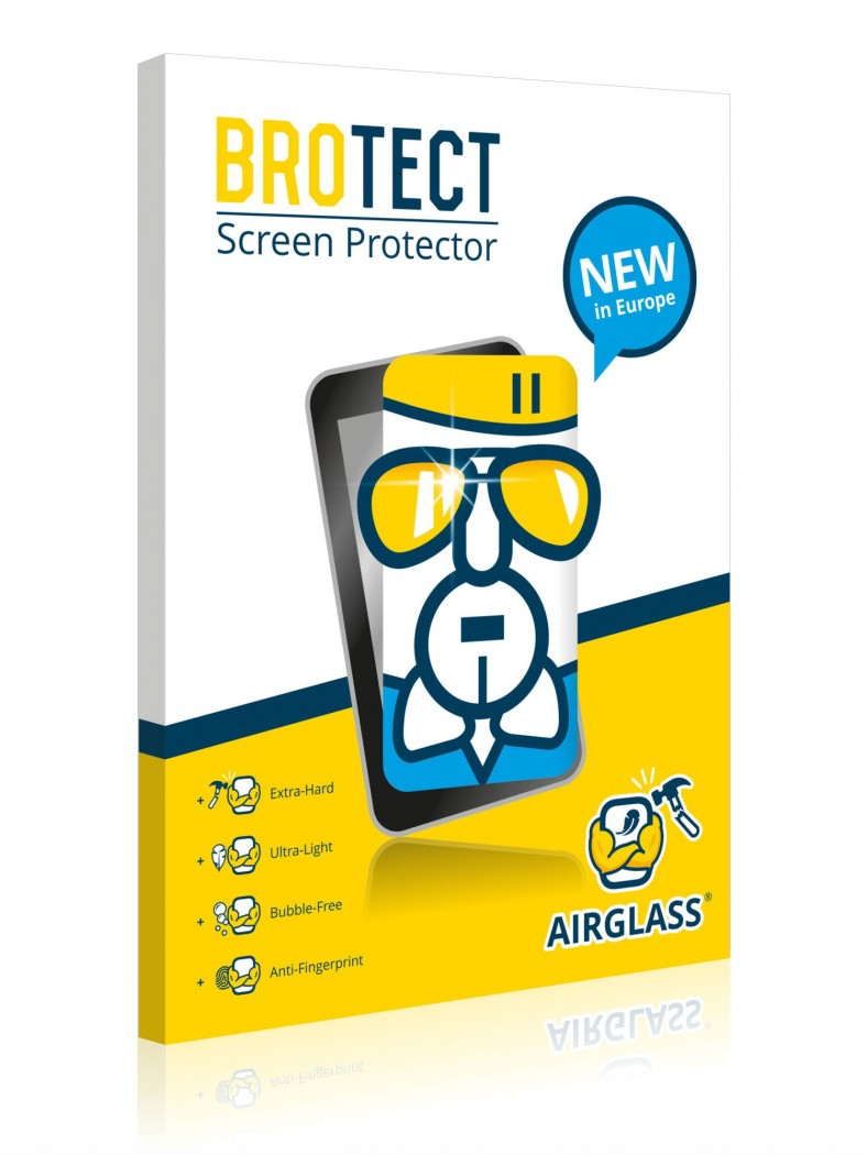 BROTECT® AirGlass® Glass Screen Protector for Navman S50