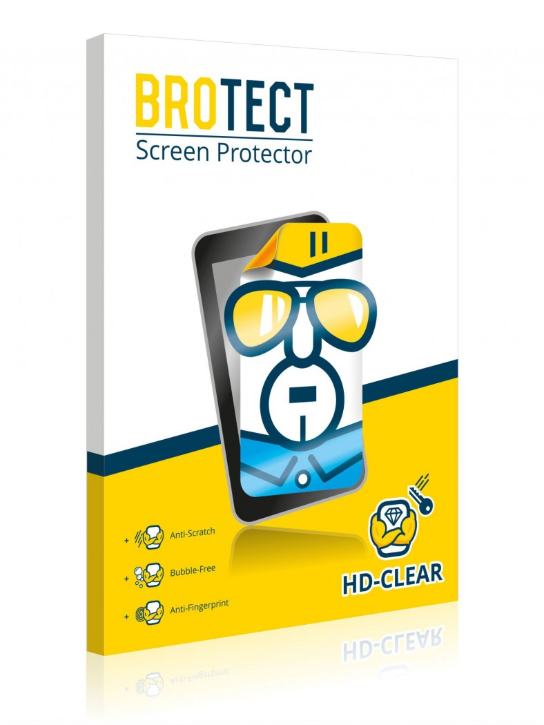 2x BROTECT® HD-Clear Screen Protector for Garmin DriveSmart 61 LMT-D