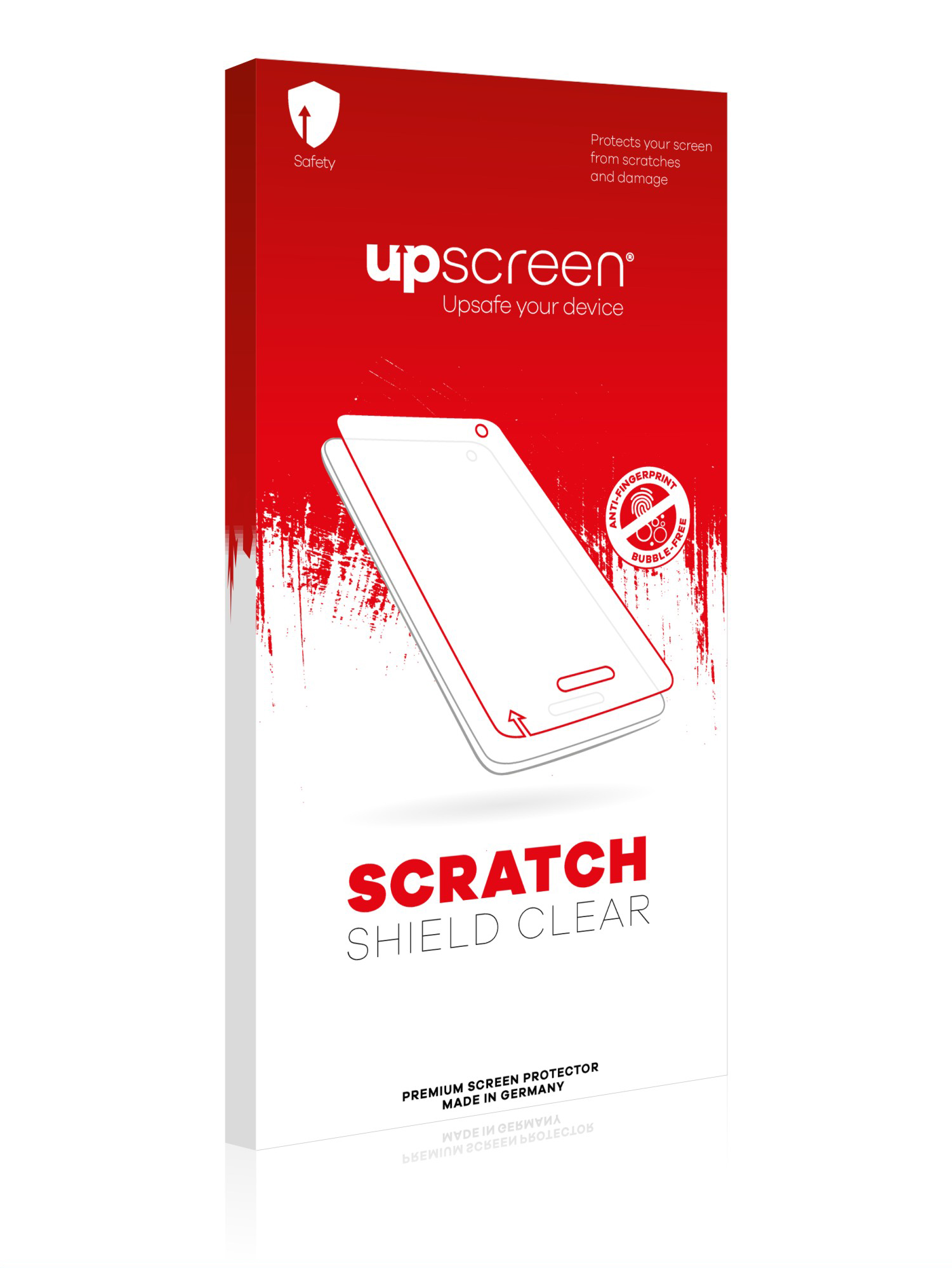 Multitouch Optimized Strong Scratch Protection upscreen Scratch Shield Clear Screen Protector for Casio FX-9860GII High Transparency
