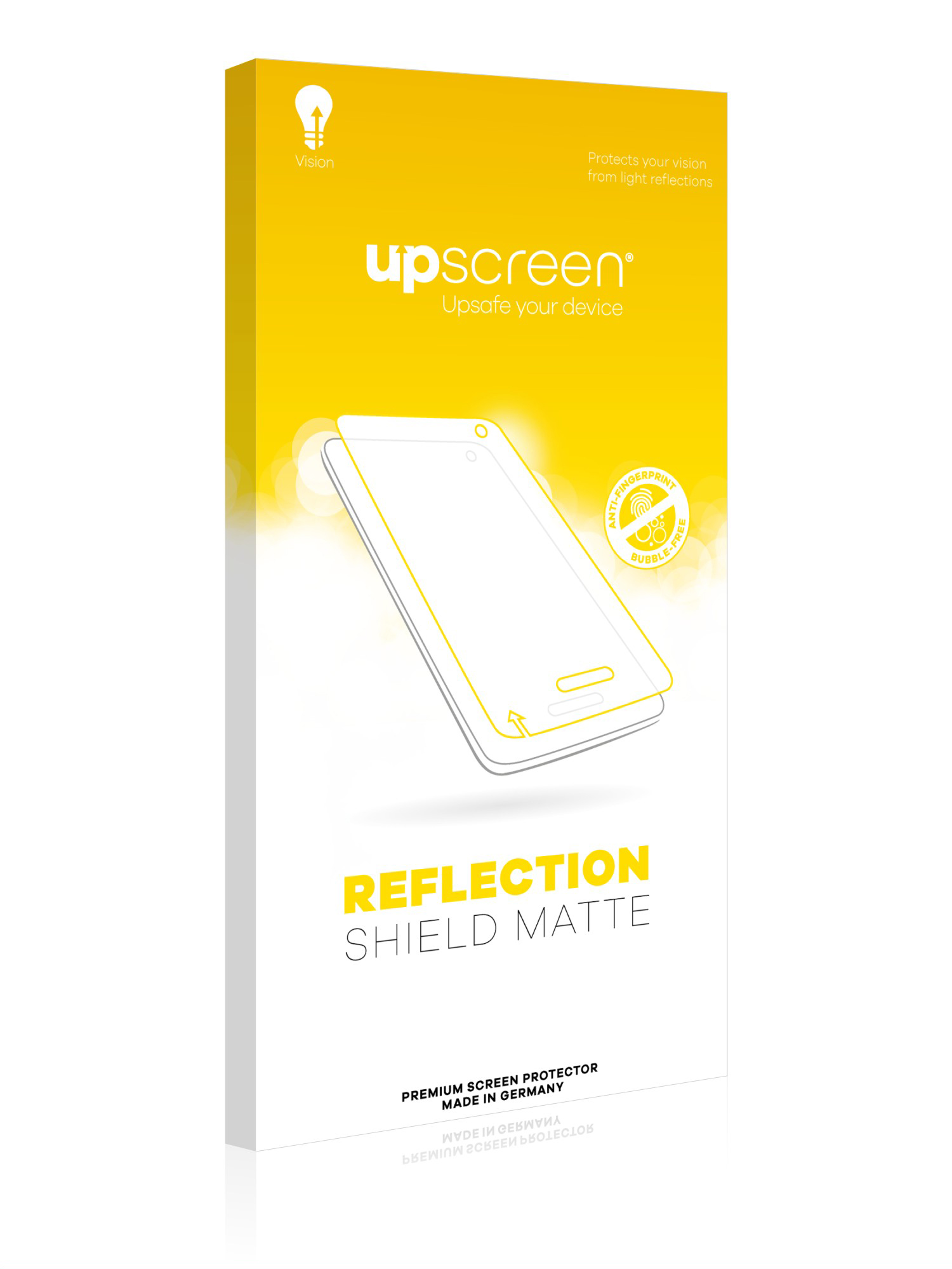 Multitouch Optimized upscreen Reflection Shield Matte Screen Protector for Garmin dezl 780 LMT-D Strong Scratch Protection Matte and Anti-Glare