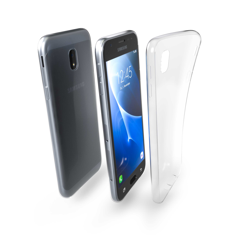 Čiré silikonové pouzdro pro Samsung Galaxy J3 (2017)