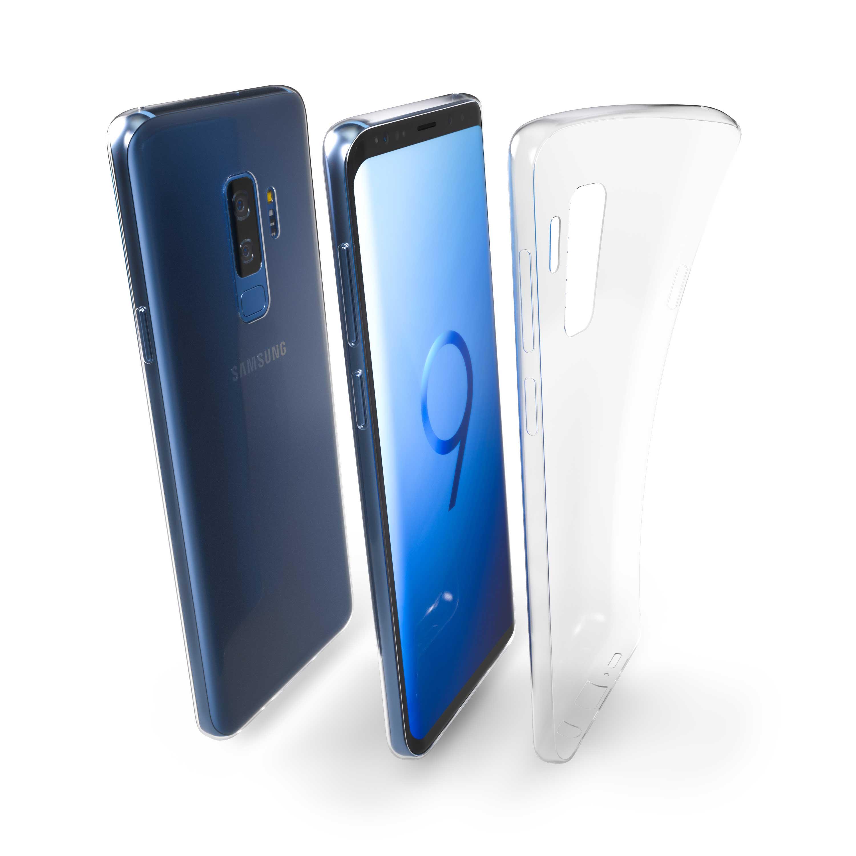 Čiré silikonové pouzdro pro Samsung Galaxy S9 Plus