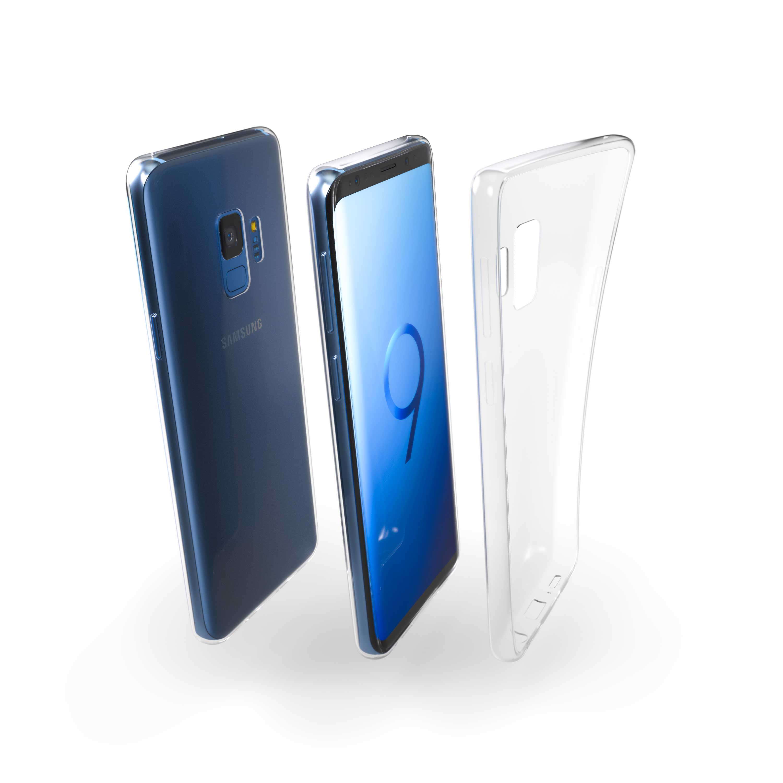 Čiré silikonové pouzdro pro Samsung Galaxy S9