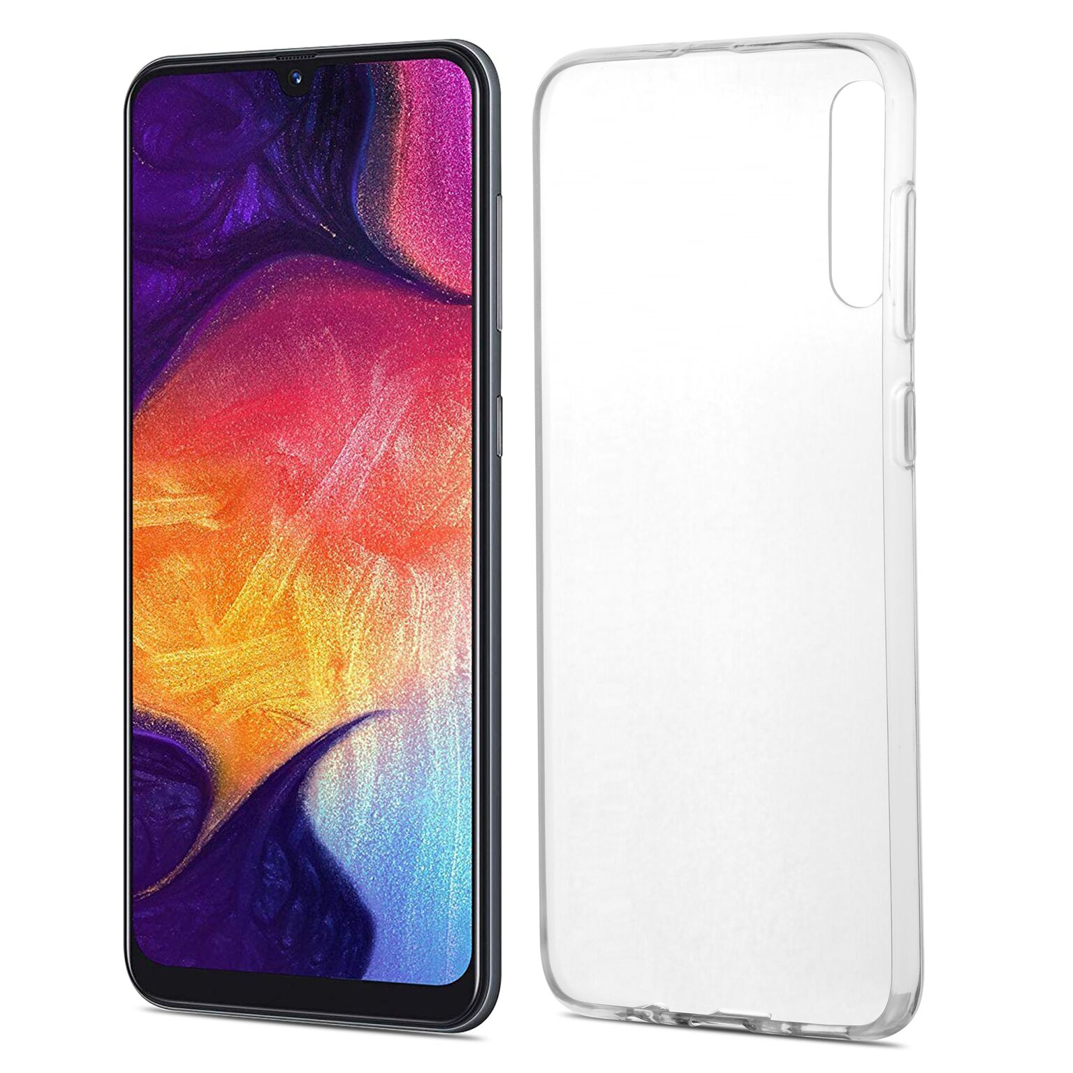 Čiré silikonové pouzdro pro Samsung Galaxy A50