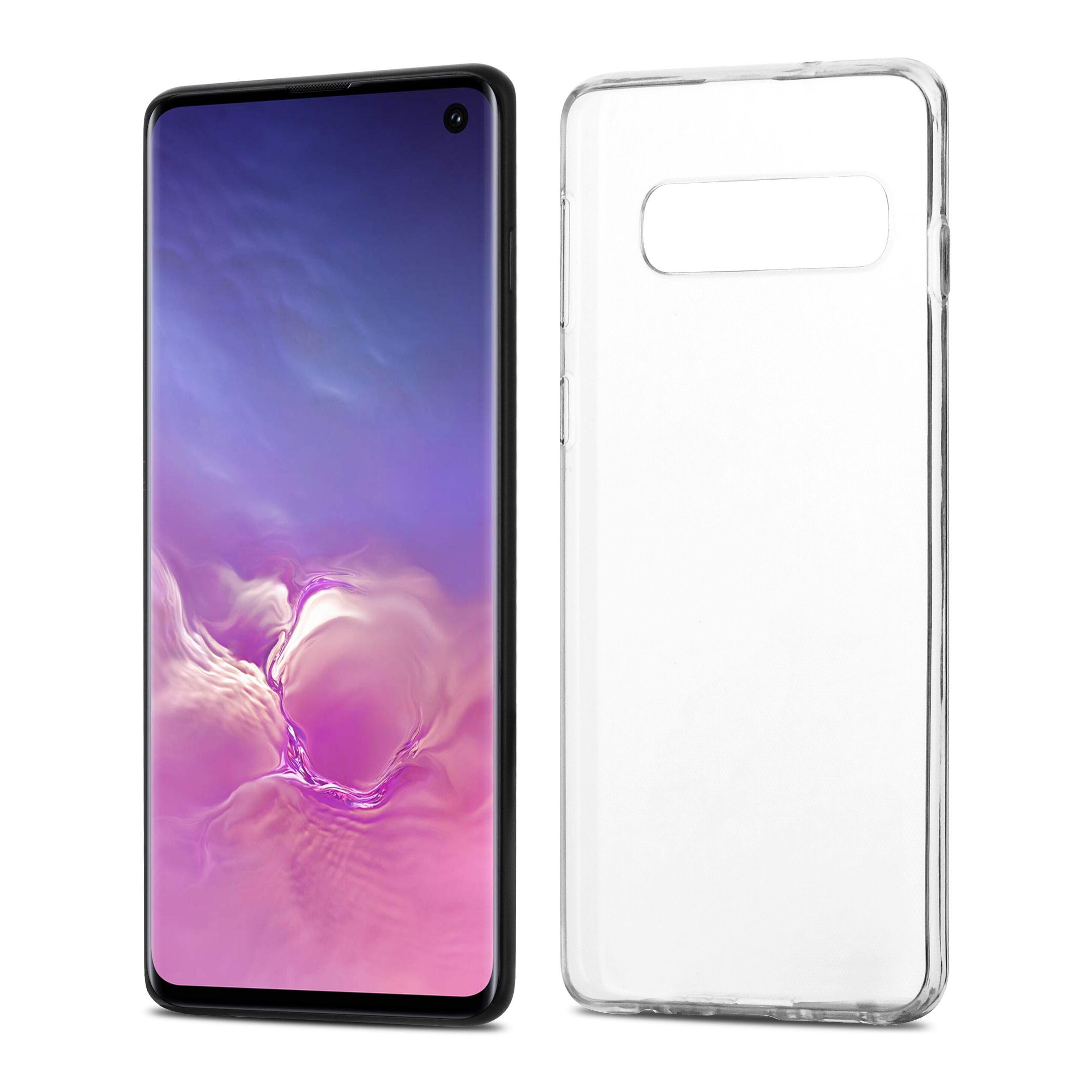 Čiré silikonové pouzdro pro Samsung Galaxy S10
