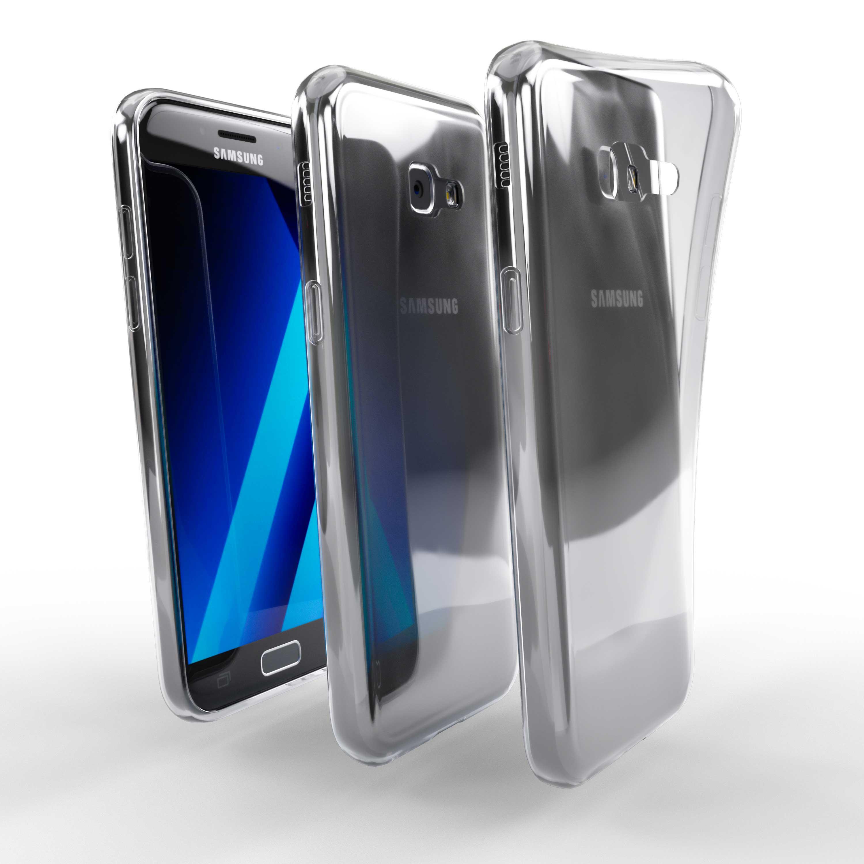 Čiré silikonové pouzdro pro Samsung Galaxy A5 (2017)