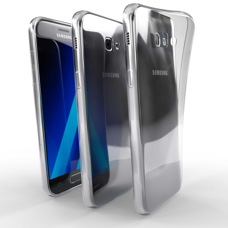 Čiré silikonové pouzdro pro Samsung Galaxy A7 (2017)