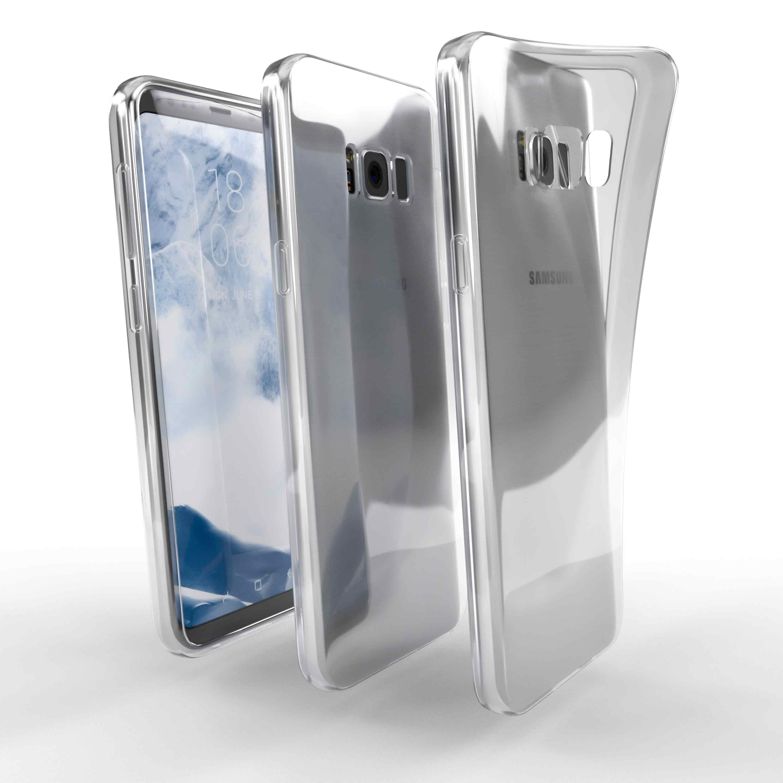 Čiré silikonové pouzdro pro Samsung Galaxy S8