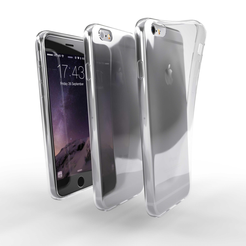 Čiré silikonové pouzdro pro Apple iPhone 6