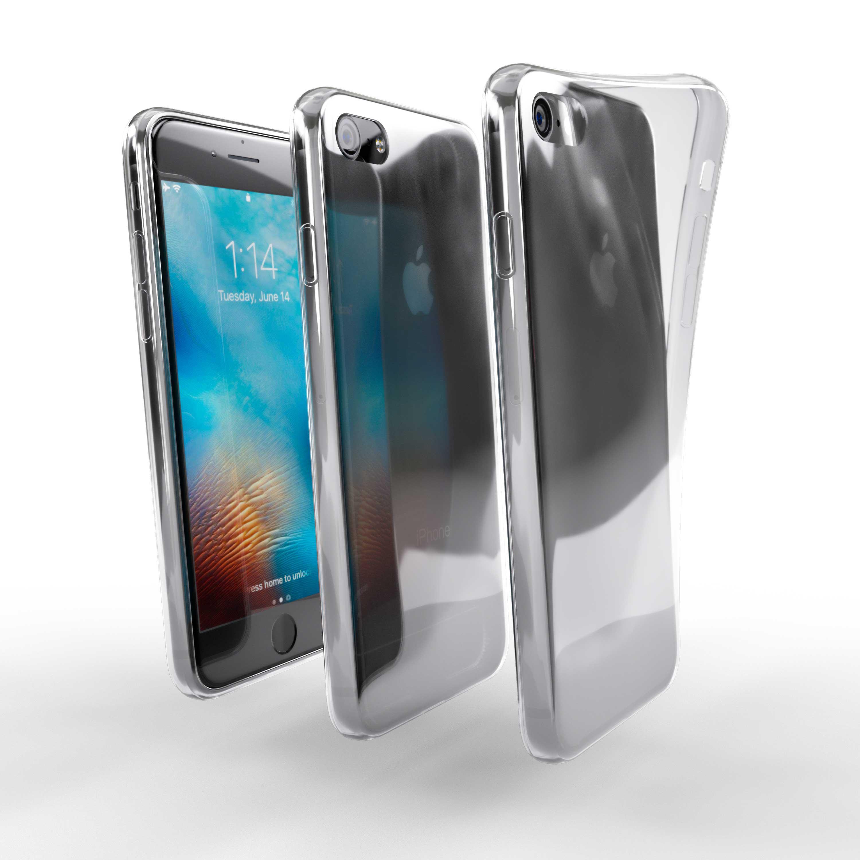 Čiré silikonové pouzdro pro Apple iPhone 8