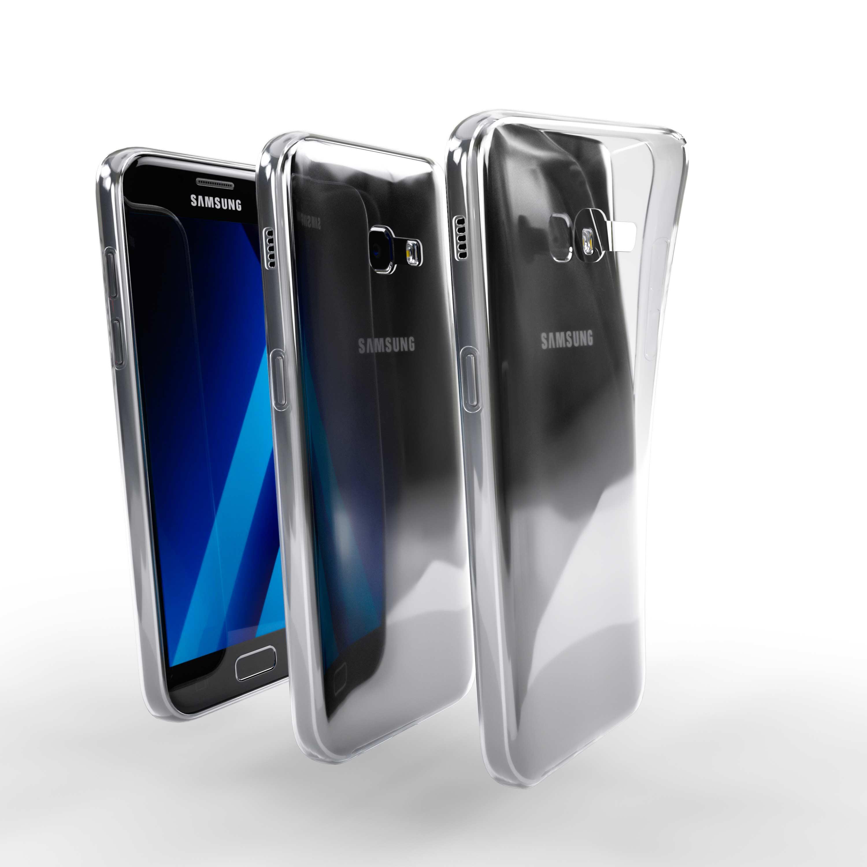 Čiré silikonové pouzdro pro Samsung Galaxy A3 (2017)