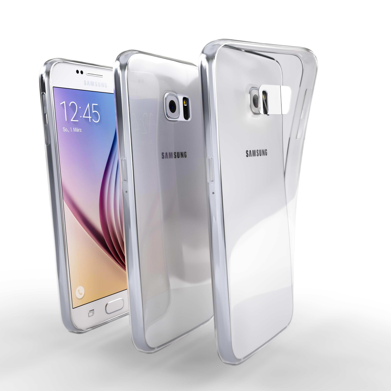 Čiré silikonové pouzdro pro Samsung Galaxy S6