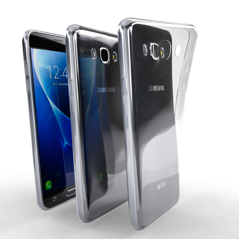 Čiré silikonové pouzdro pro Samsung Galaxy J7 (2016)