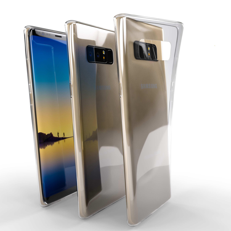 Čiré silikonové pouzdro pro Samsung Galaxy Note 8