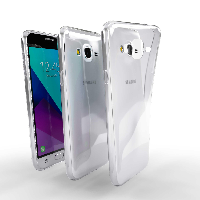 Čiré silikonové pouzdro pro Samsung Galaxy J3 (2015)