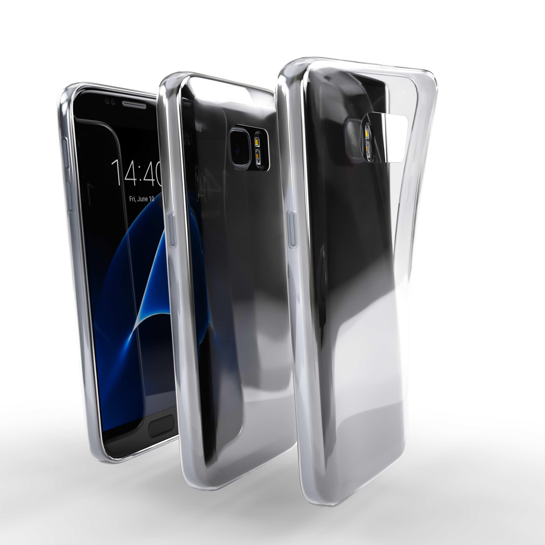 Čiré silikonové pouzdro pro Samsung Galaxy S7 Exynos