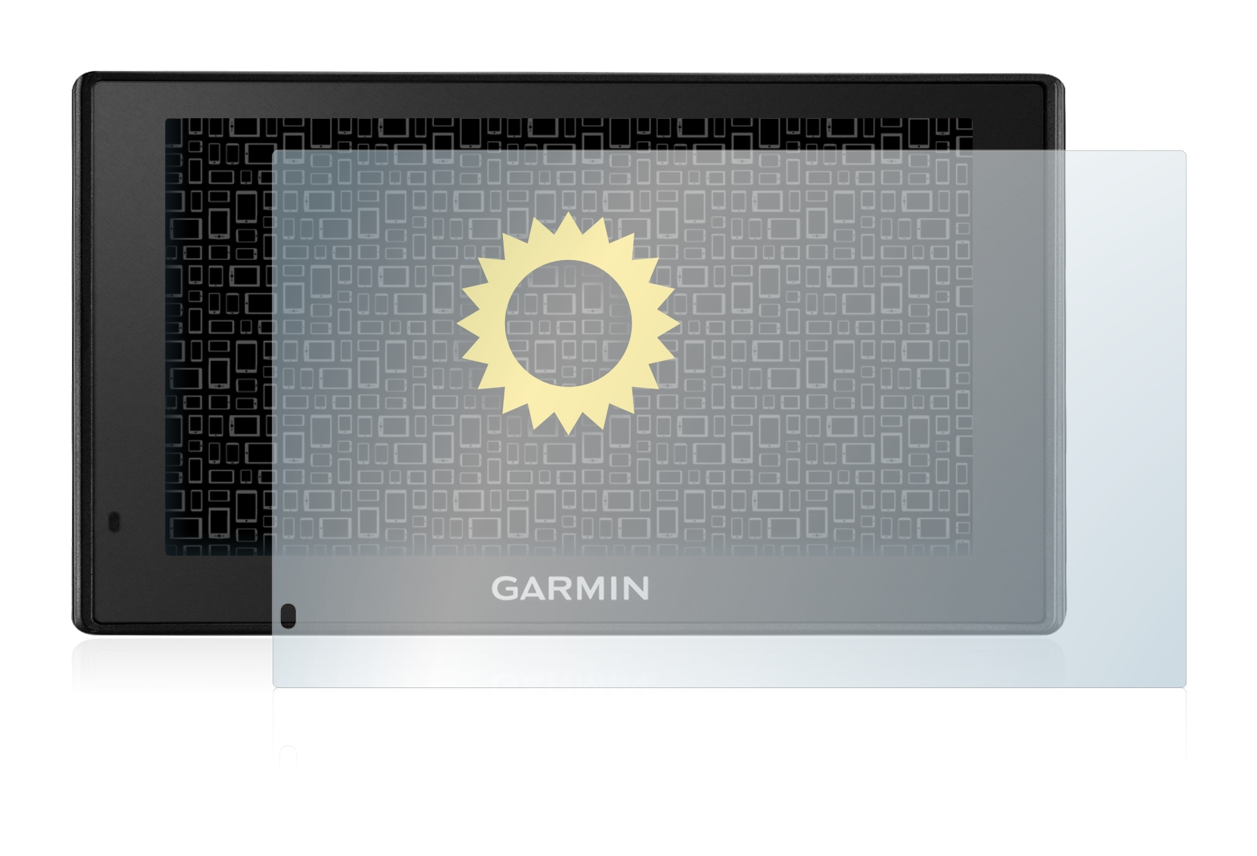 Vikuiti-Screen-Protector-DQCM30-from-3M-for-Garmin-DriveSmart-70-LMT-D-Matte